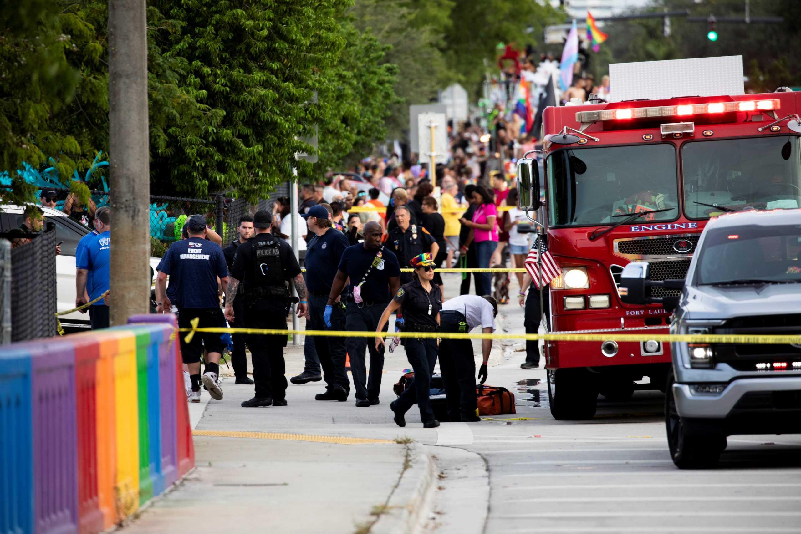 ΗΠΑ: Φορτηγό παρέσυρε και σκότωσε άνδρα σε Gay Pride στη Φλόριντα (pics, vids)