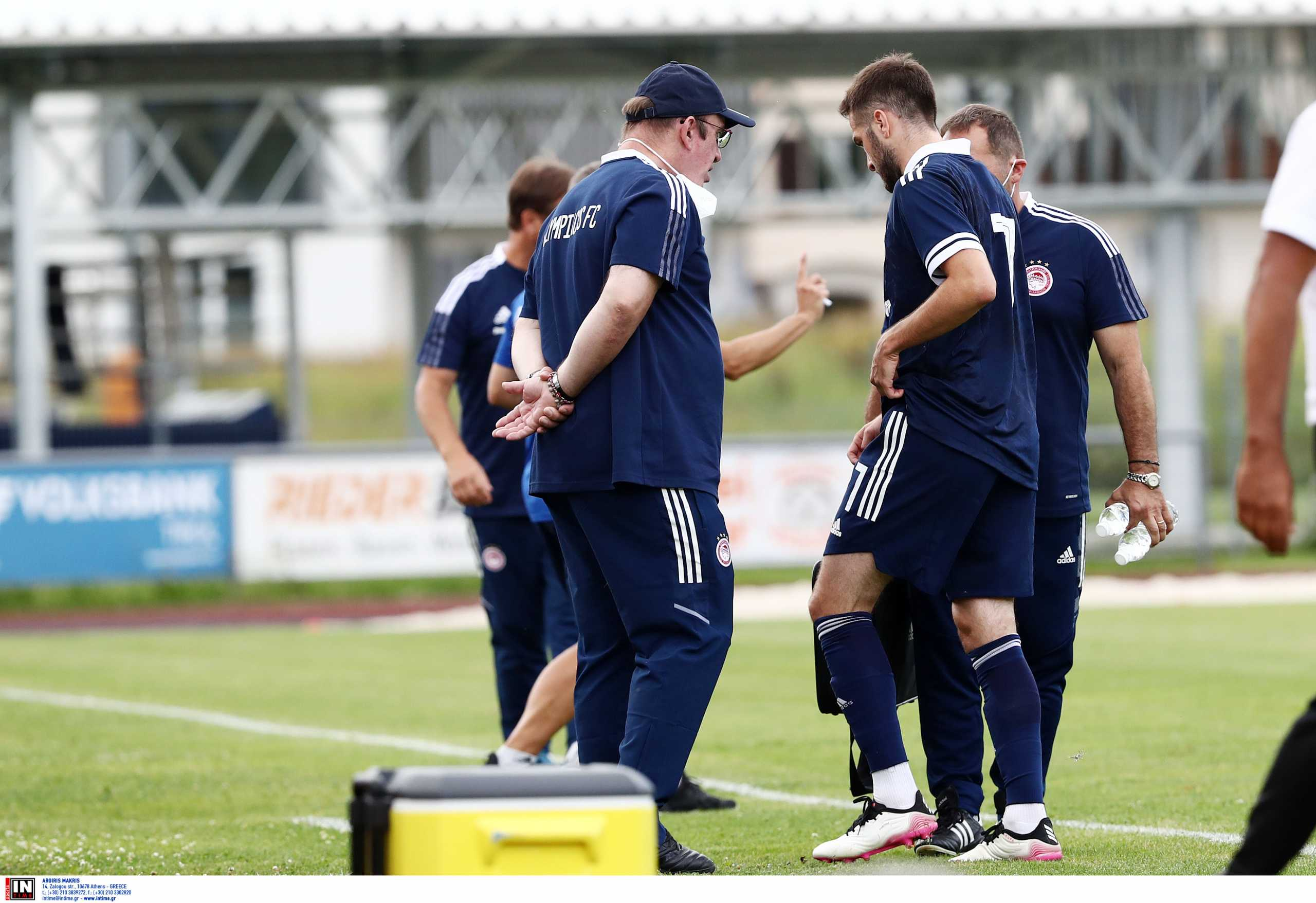 Ολυμπιακός: Αποχώρησε τραυματίας ο Φορτούνης από το φιλικό με την Βόλφσμπέργκερ
