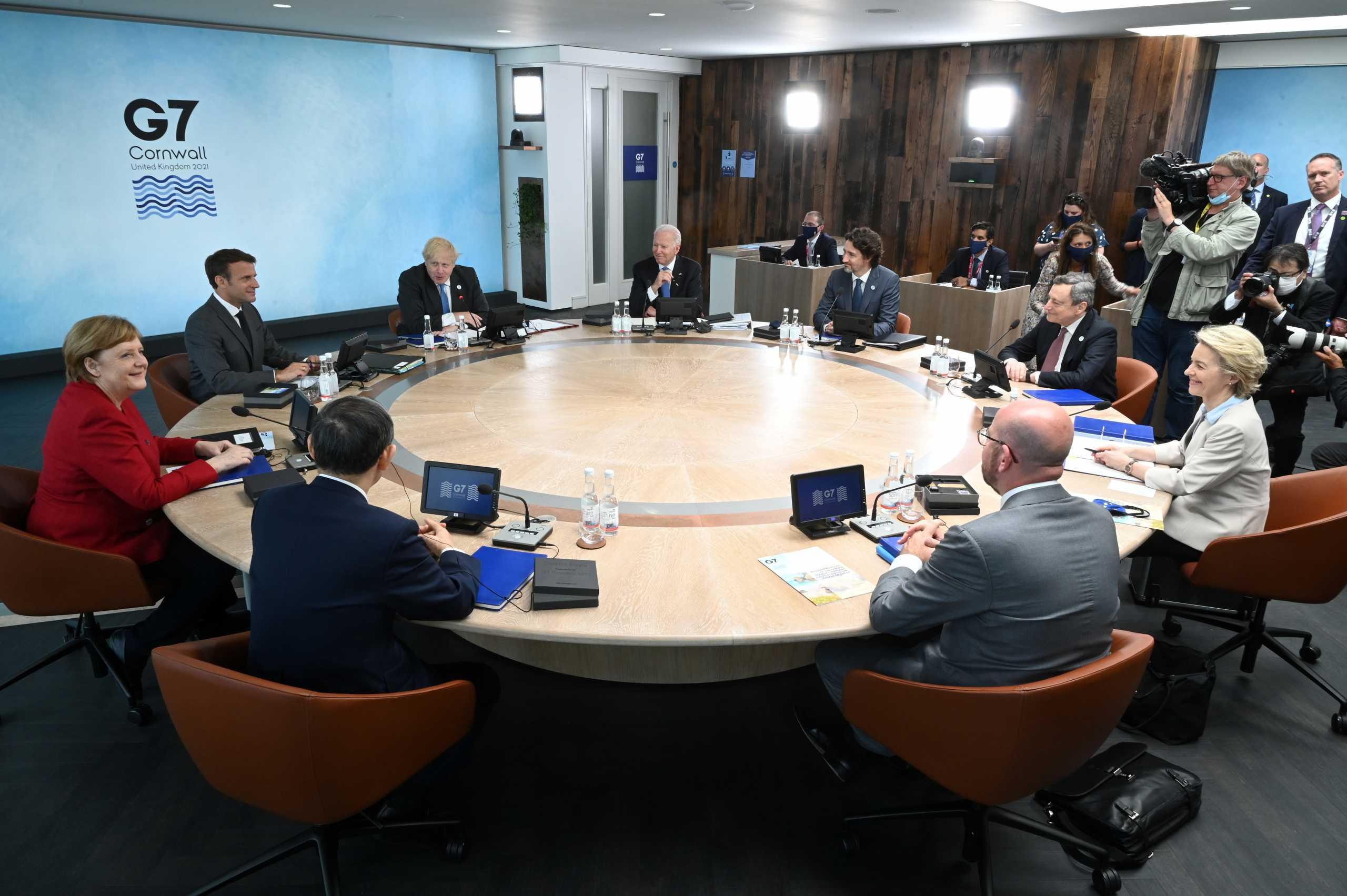 Σύνοδος G7: Καλεί την Κίνα να σεβαστεί τα ανθρώπινα δικαιώματα και τις ελευθερίες