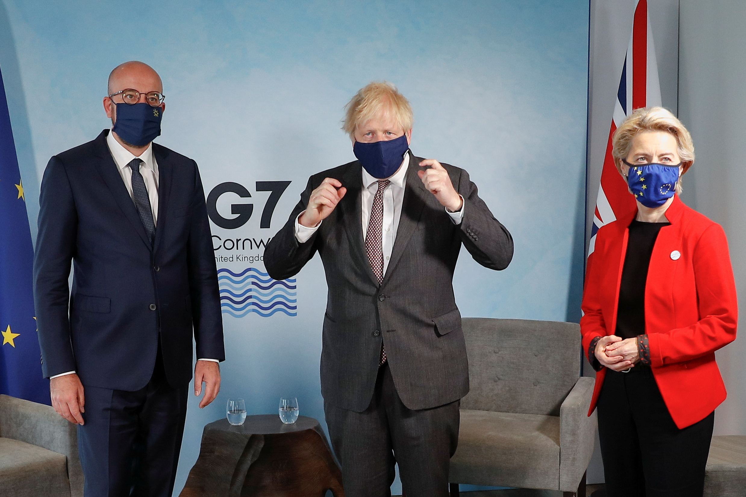 G7: Ο Τζόνσον ζητά «συμβιβασμό» από τους Ευρωπαίους ηγέτες για τη Βόρεια Ιρλανδία
