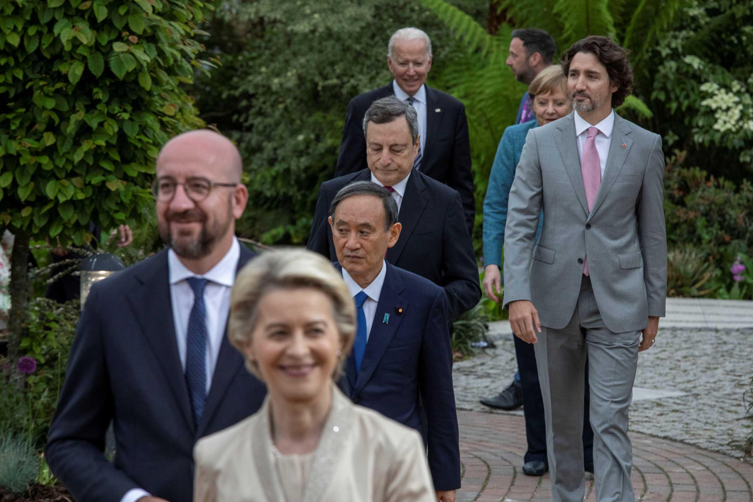 G7: Σε εξέλιξη μία από τις σημαντικότερες συνόδους των τελευταίων δεκαετιών