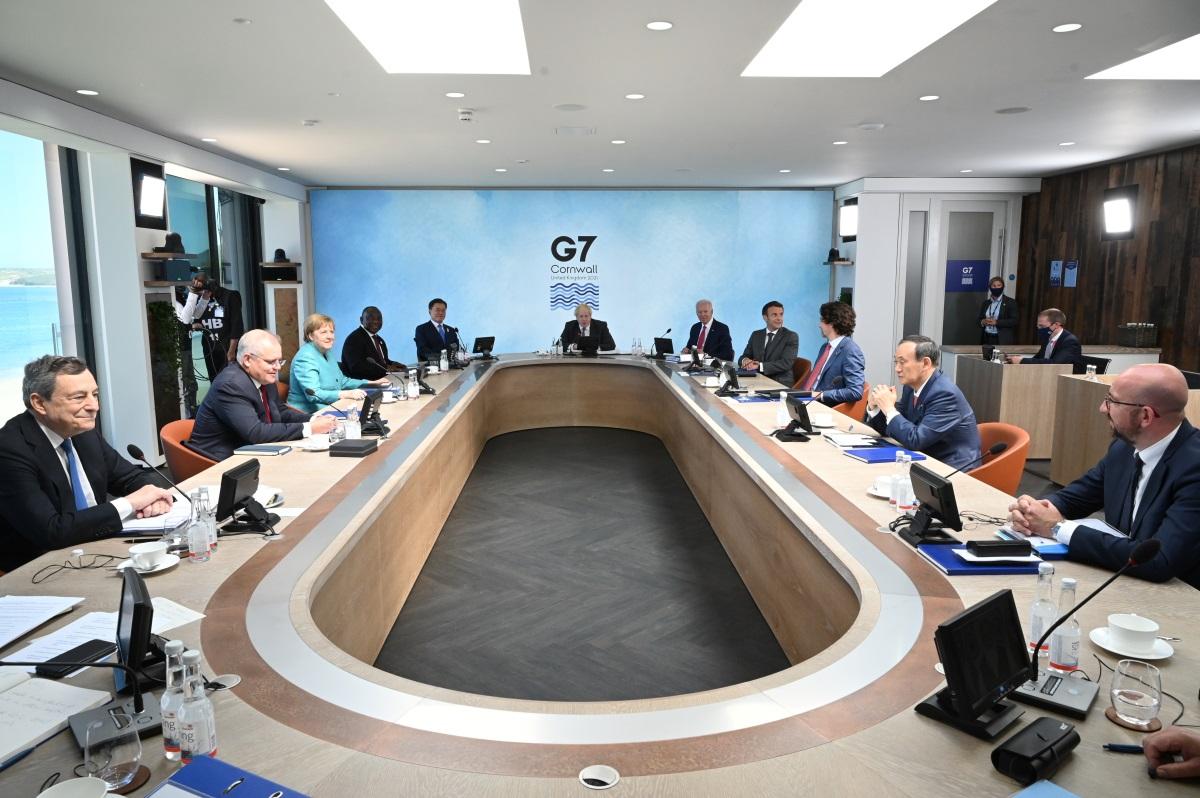 G7: Δωρεά 1 δισ. εμβολίων κατά του κορονοϊού σε φτωχότερες χώρες προβλέπει το σχέδιο απόφασης