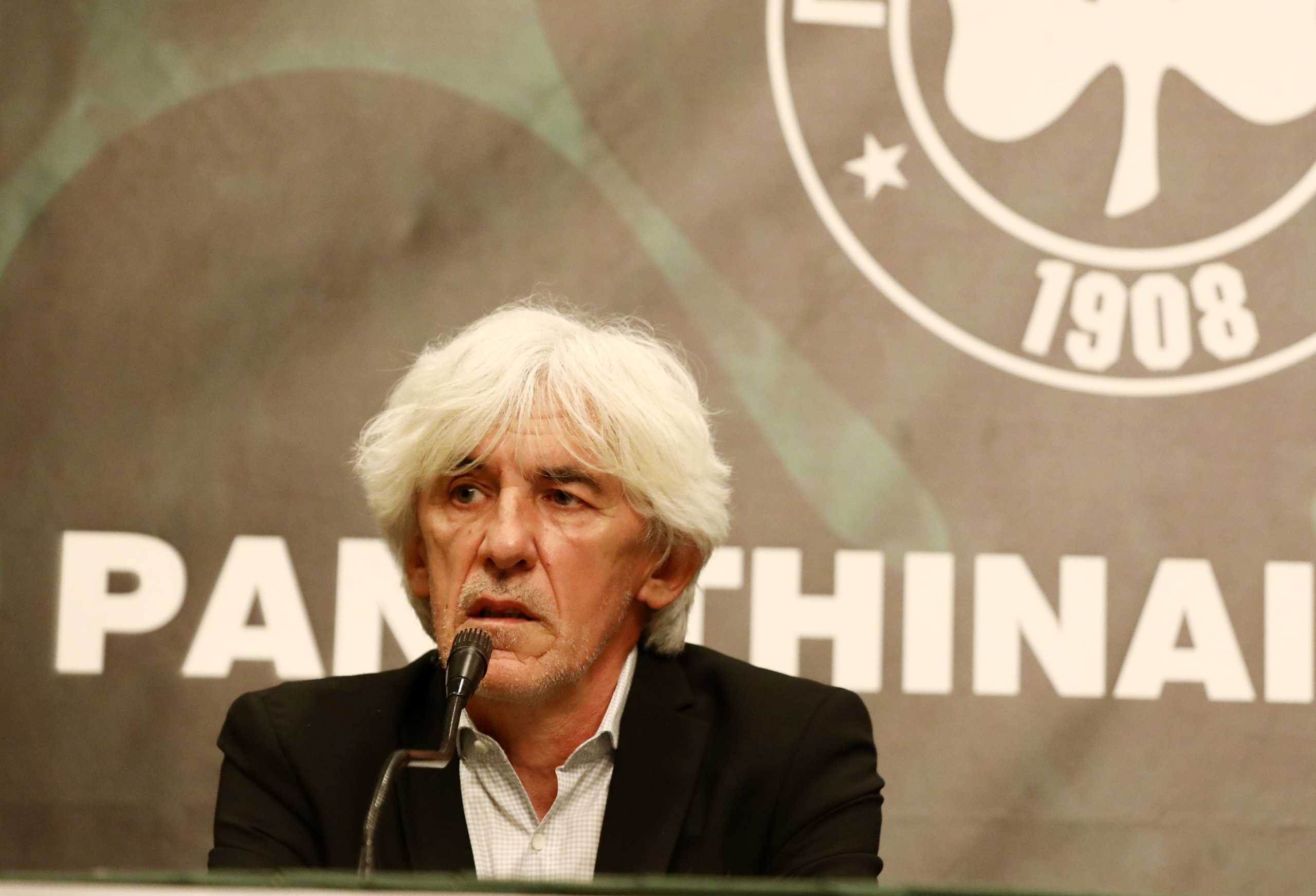 Γιοβάνοβιτς: «Η ιστορία του Παναθηναϊκού ορίζει τους στόχους μας»