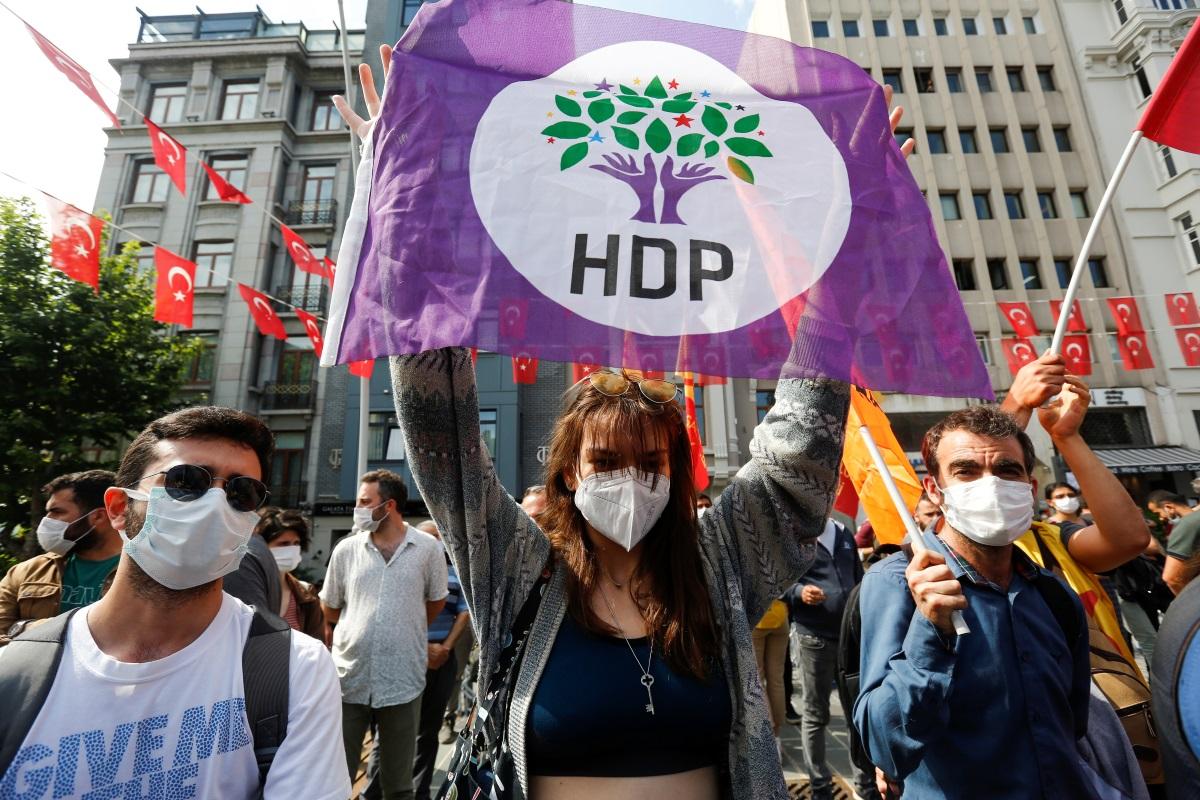 Τουρκία: Το Συνταγματικό Δικαστήριο άνοιξε τον δρόμο για να τεθεί εκτός νόμου το φιλοκουρδικό HDP