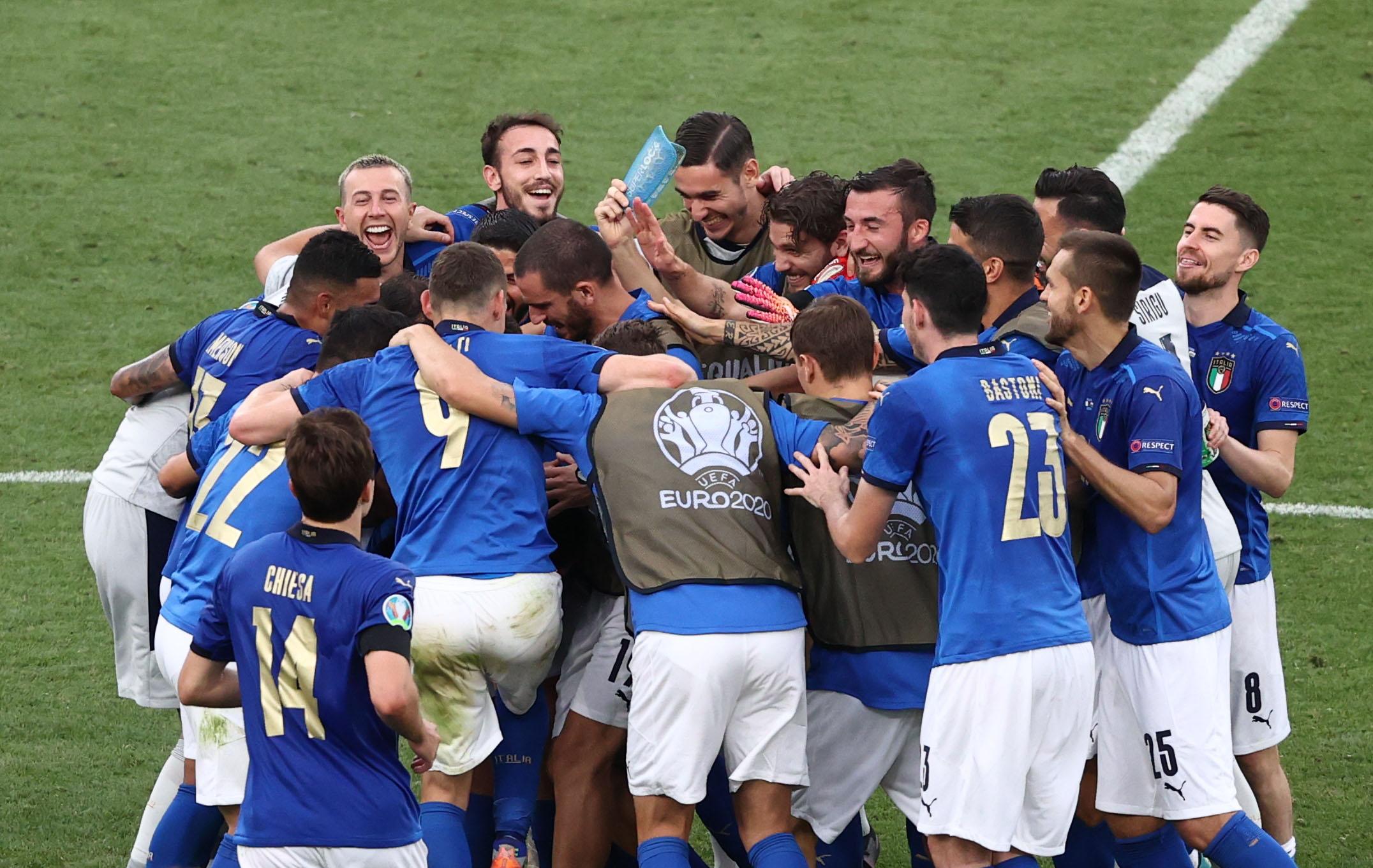 Euro 2020: Η Ιταλία ισοφάρισε «μυθικό» ρεκόρ 82 ετών