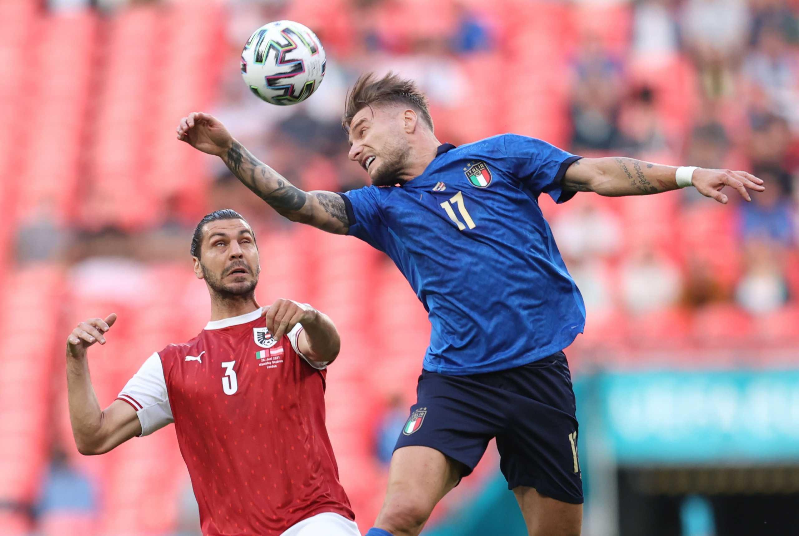 Euro 2020, Ιταλία – Αυστρία 2-1 (παρ.) ΤΕΛΙΚΟ!
