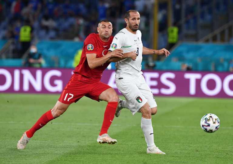 Τουρκία - Ιταλία 0-1 LIVE: «Λύτρωση» με αυτογκόλ για την «σκουάντρα ατζούρα»