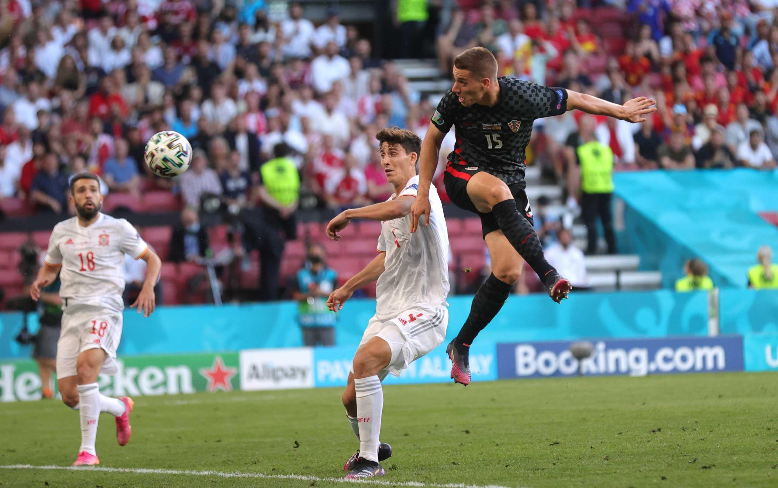 Euro 2020, Κροατία – Ισπανία: Ο Πάσαλιτς το έστειλε στην παράταση