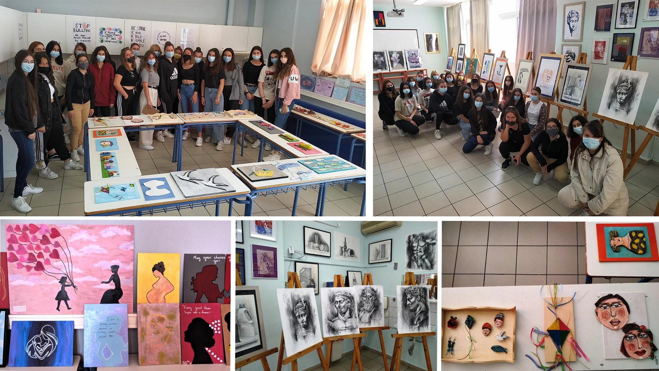Καβάλα: Δημιουργία μέσα στην πανδημία για τους μαθητές του 4ου ΕΠΑΛ
