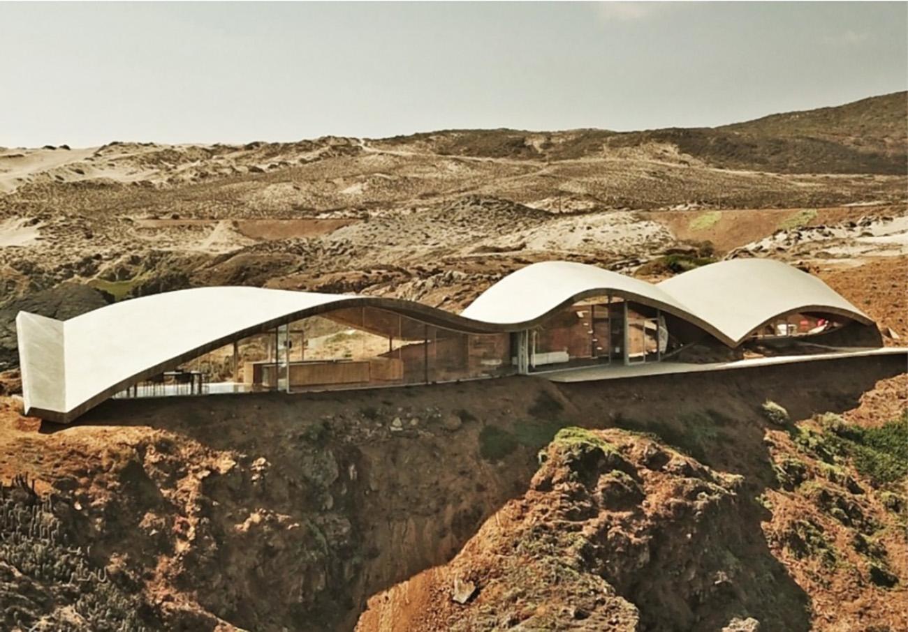 Los Vilos House: Η υπέρτατη παραθαλάσσια κατοικία