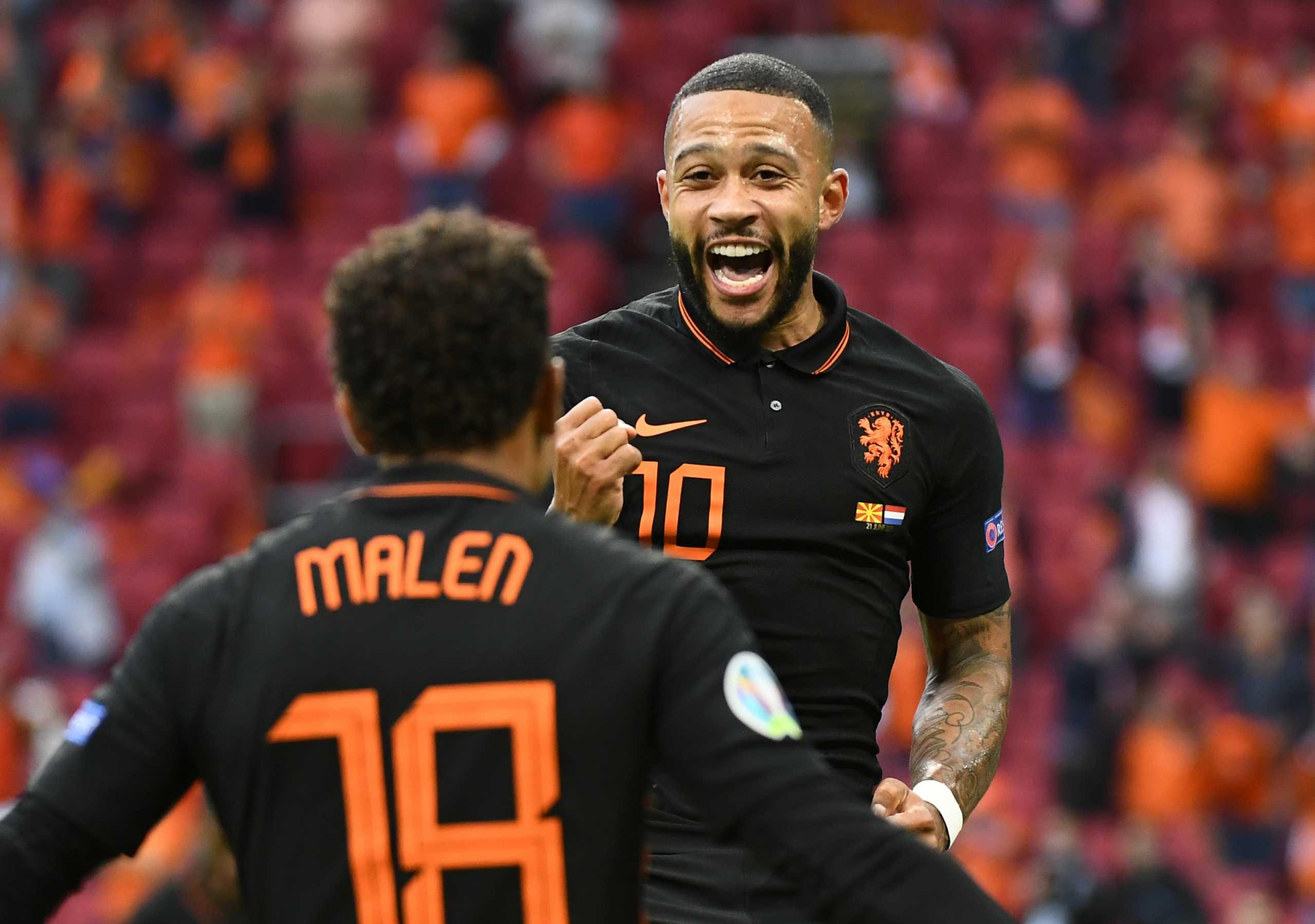 Euro 2020, Βόρεια Μακεδονία – Ολλανδία: Συνεργασία Ντεπάι – Μαλέν και γκολ «ποίημα»