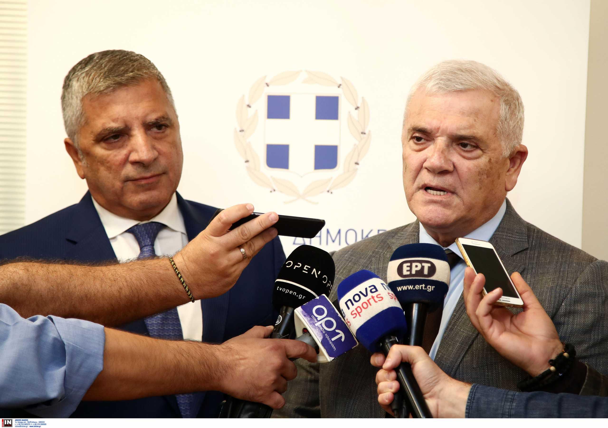 """Μελισσανίδης: «Στόχος τέτοια εποχή του χρόνου να κάνουμε τα εγκαίνια της """"Αγιά Σοφιάς""""»"""