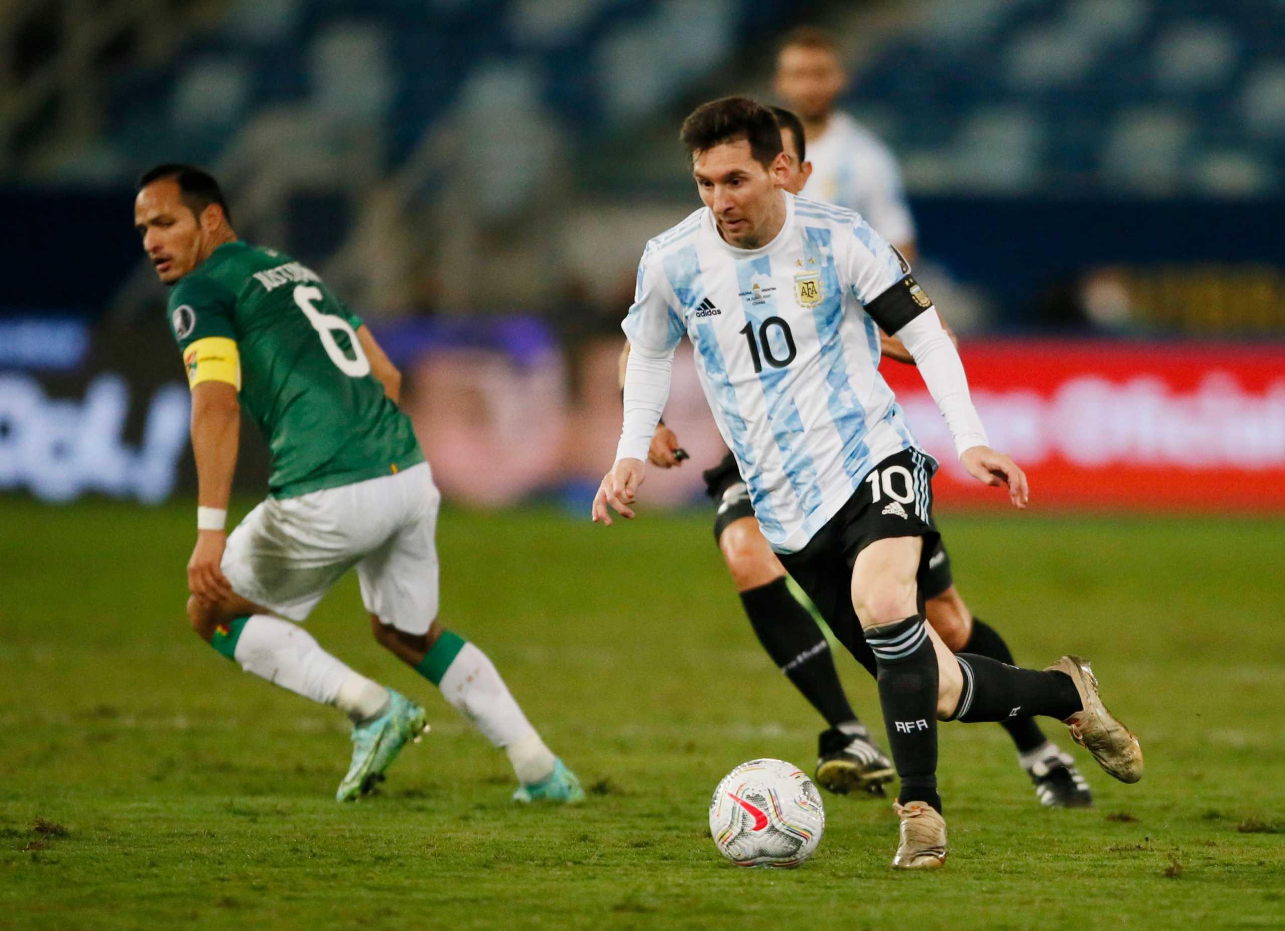 Copa America: Ιστορική εμφάνιση και «μαγικά» από Μέσι στην «τεσσάρα» της Αργεντινής