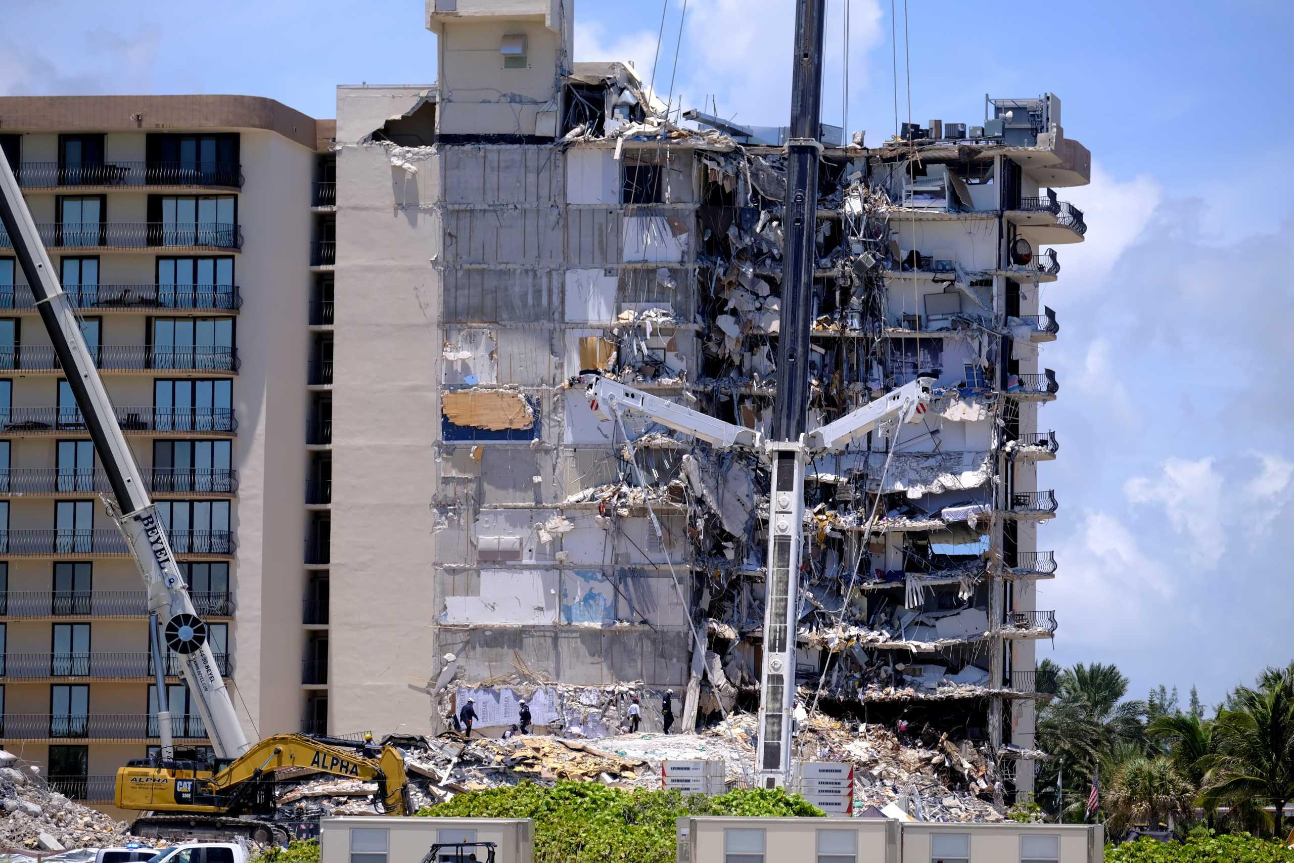 Μαϊάμι: 10 οι νεκροί από την κατάρρευση του κτιρίου – Αγνοούμενος ο Έλληνας – Υπήρχαν προειδοποιήσεις