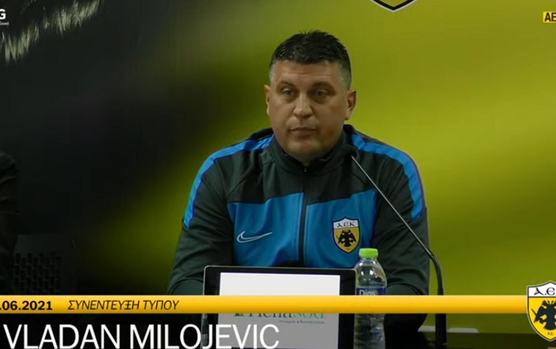 ΑΕΚ: Ο Μιλόγεβιτς «παρουσίασε» την Nike στους «κιτρινόμαυρους»