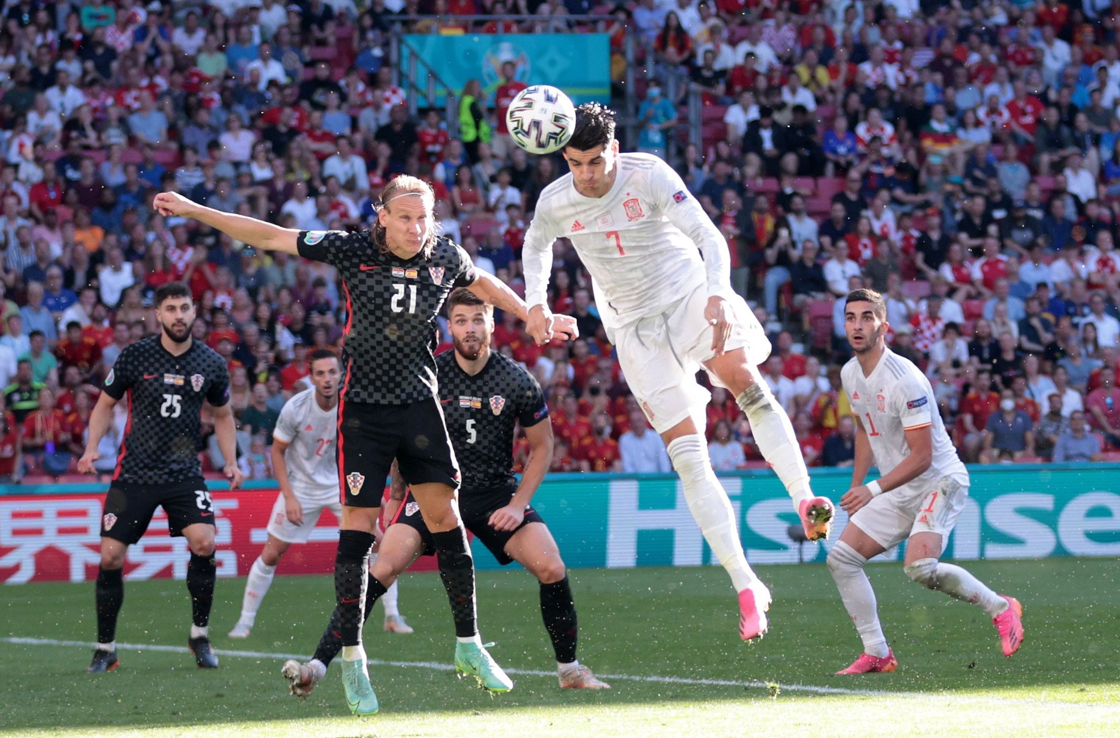 Euro 2020, Κροατία – Ισπανία: Ανατροπή με τρομερή κεφαλιά