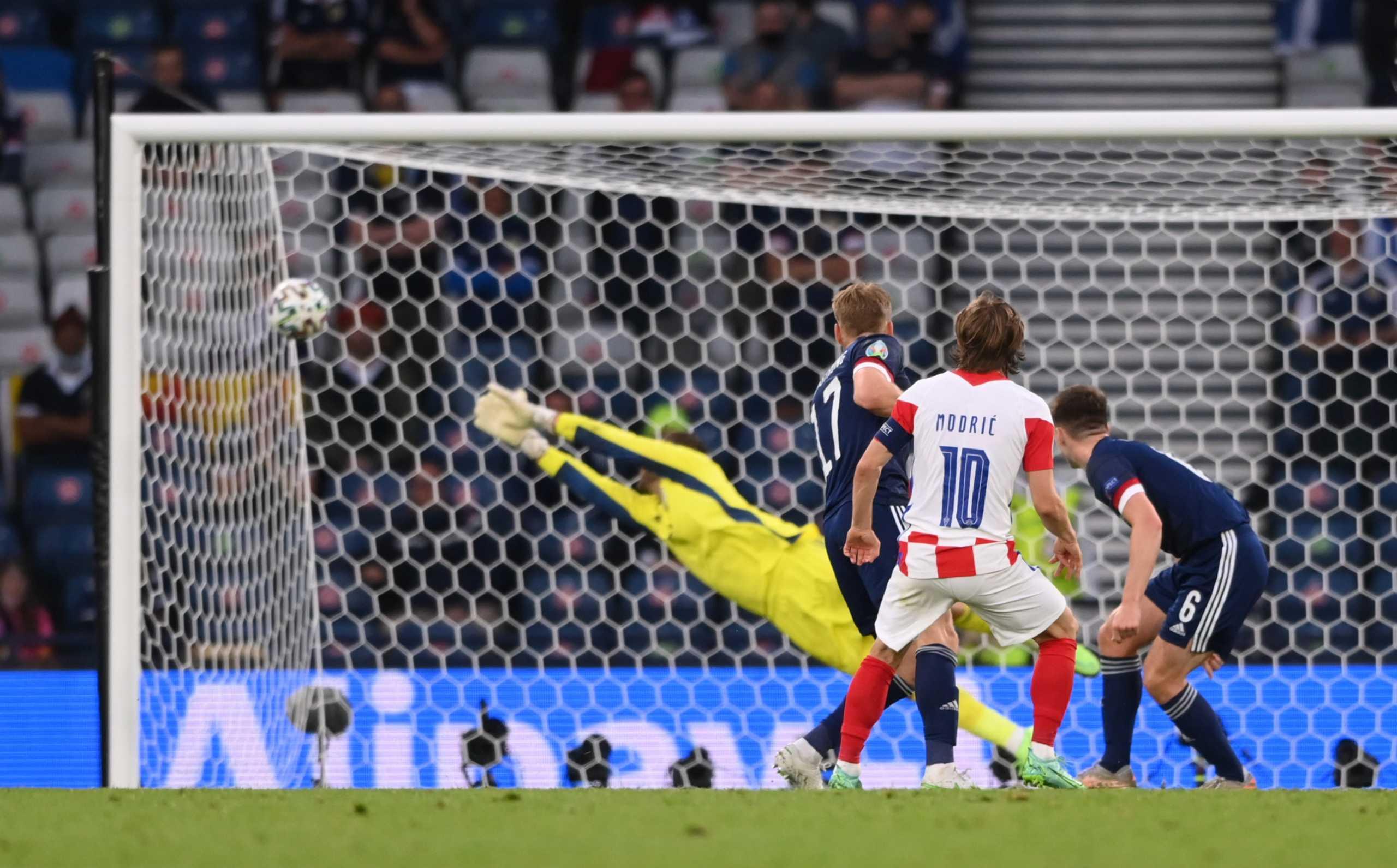 Euro 2020, Κροατία – Σκωτία: «Μυθικό τεμάχιο» από Μόντριτς