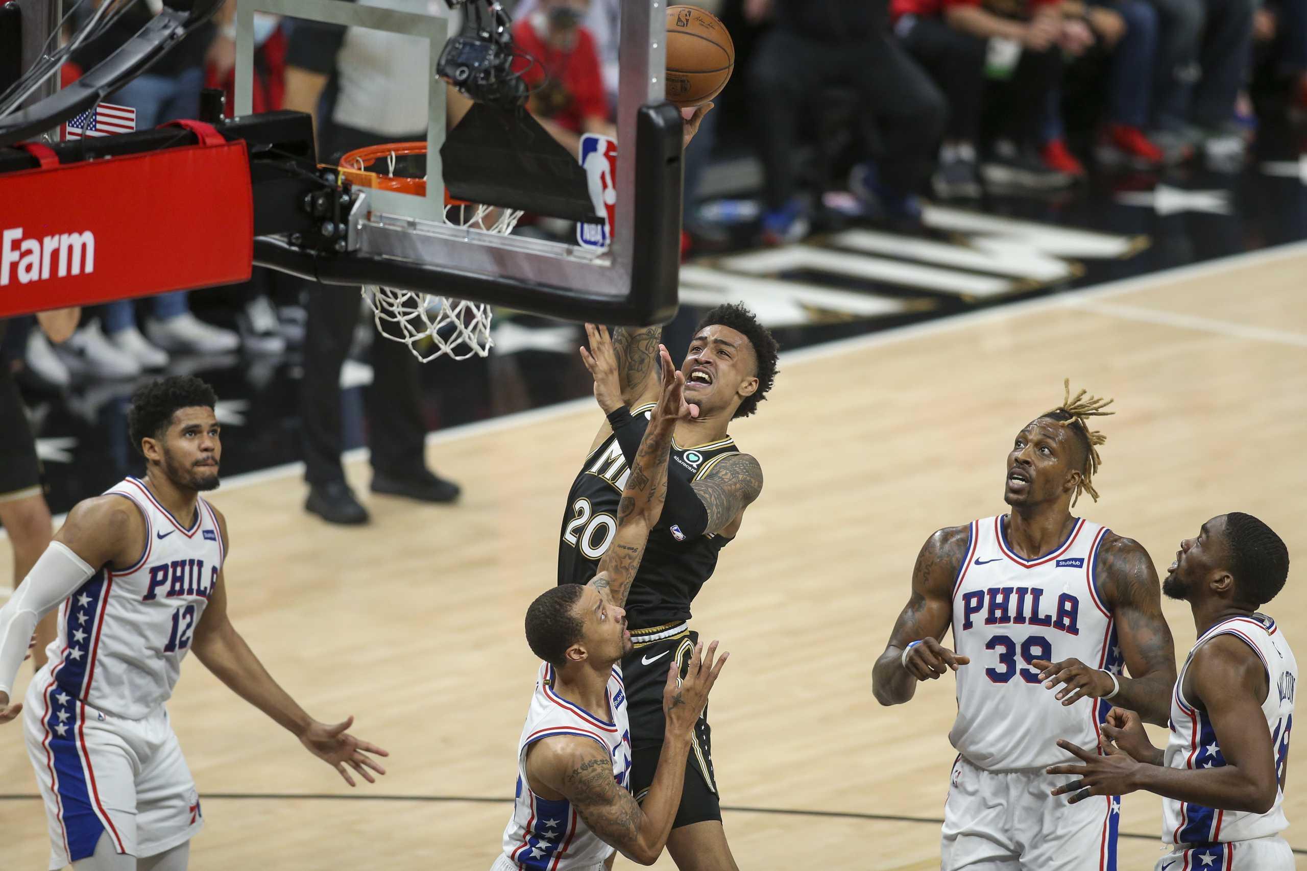NBA: «Ψυχωμένοι» Χοκς και καταιγιστικοί Κλίπερς ισοφάρισαν σε 2-2 τις σειρές των ημιτελικών