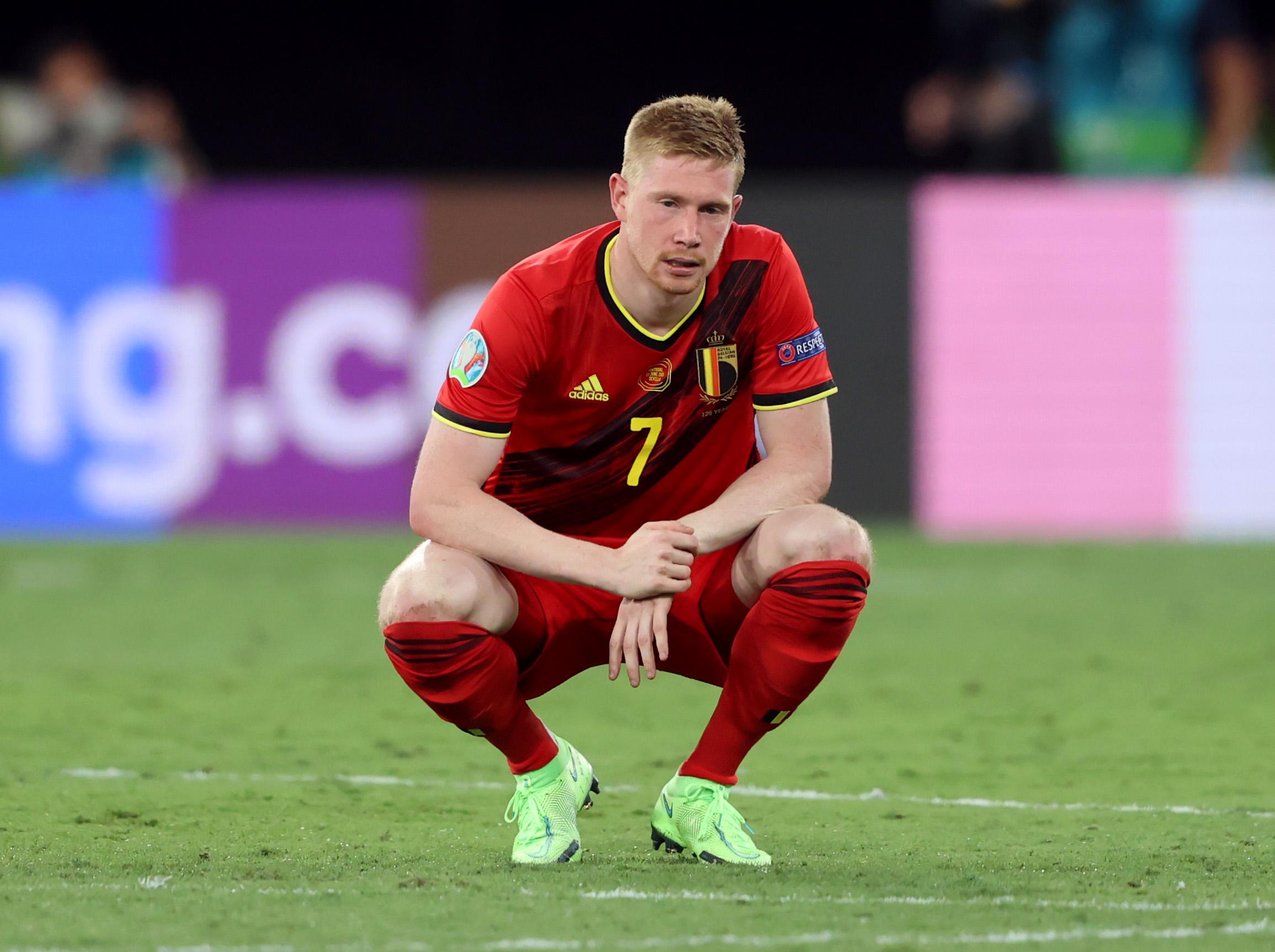 Euro 2020: Ανησυχία στο Βέλγιο για Ντε Μπρόινε και Αζάρ ενόψει Ιταλίας