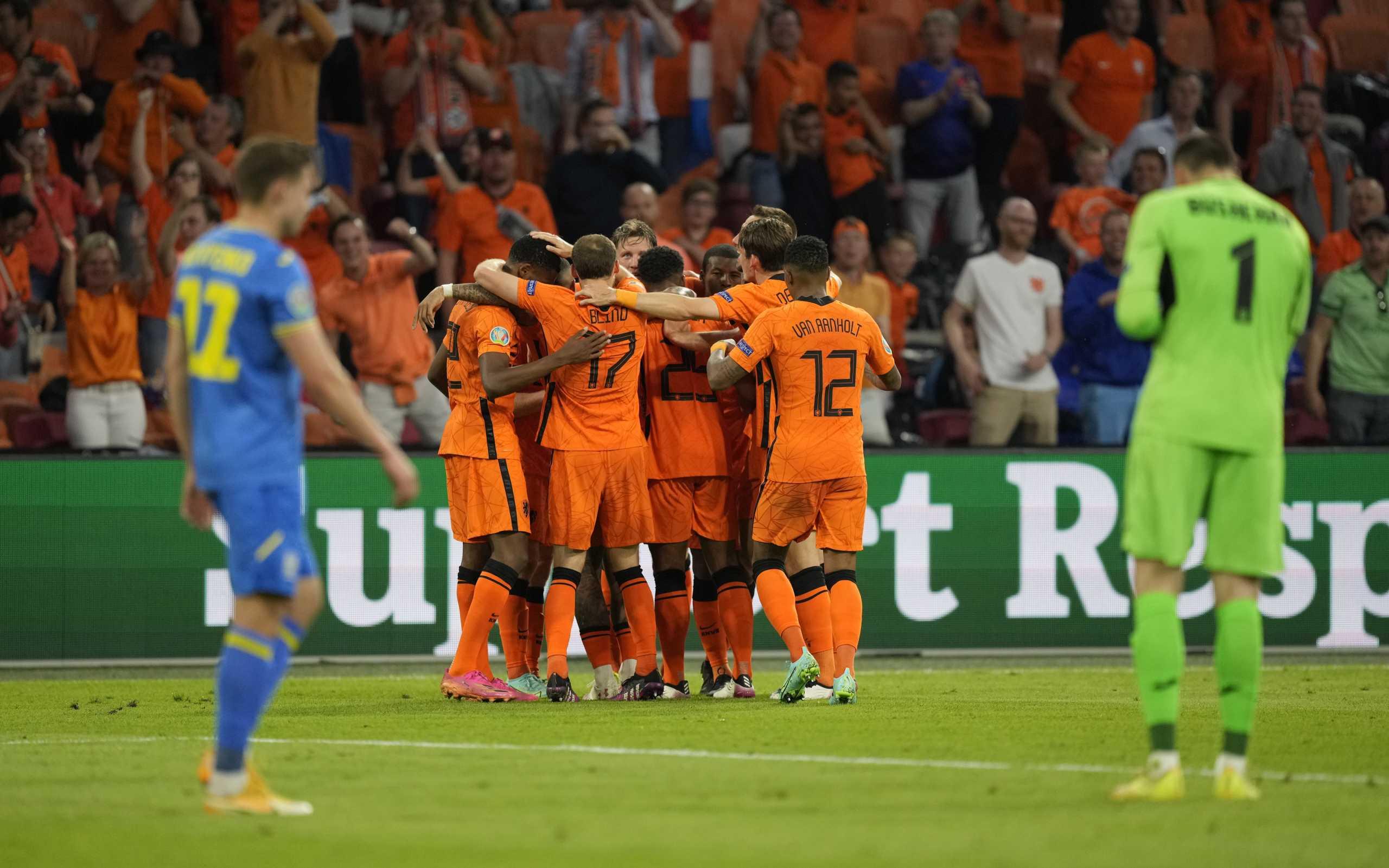 Ολλανδία – Ουκρανία 3-2: Καρδιοχτύπησαν οι «οράνιε» αλλά «λυτρώθηκαν»