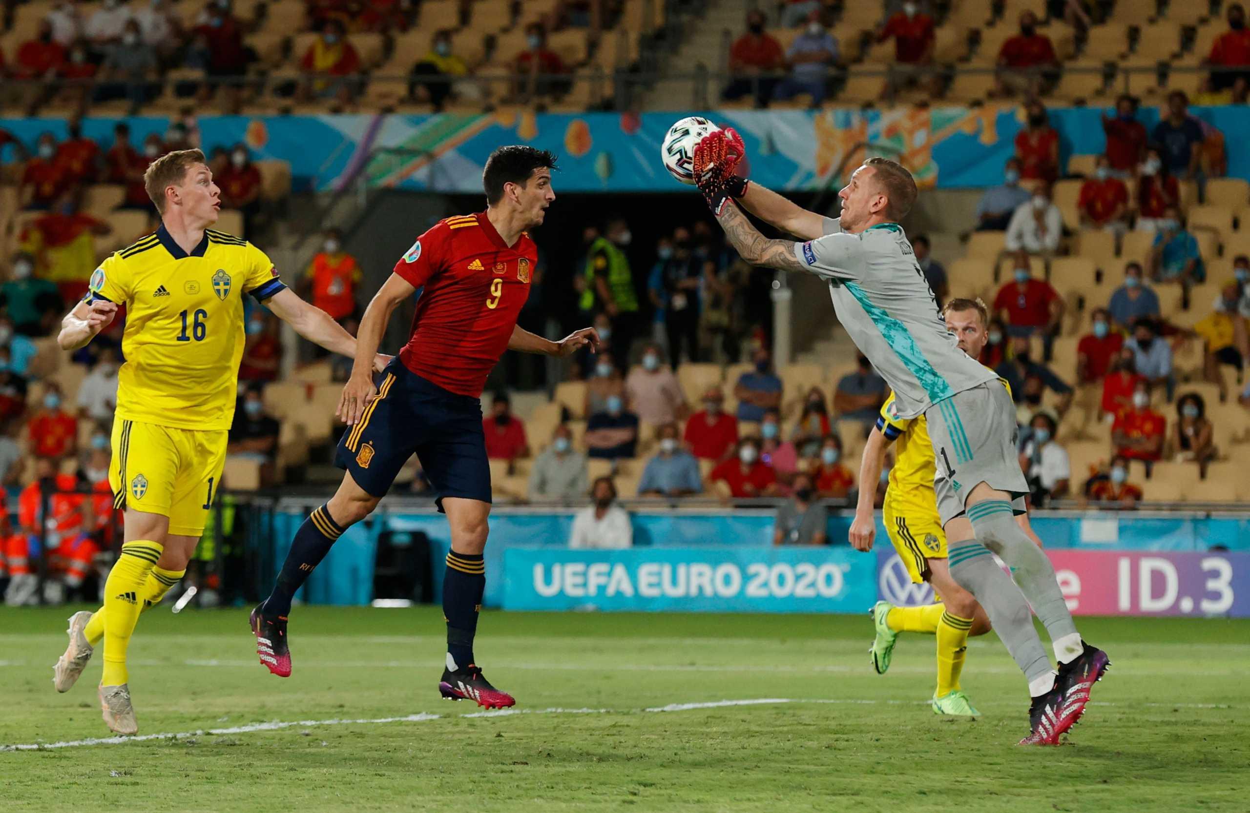 Euro 2020, Ισπανία – Σουηδία: Ο Όλσεν ύψωσε «τείχος» στους Ίβηρες
