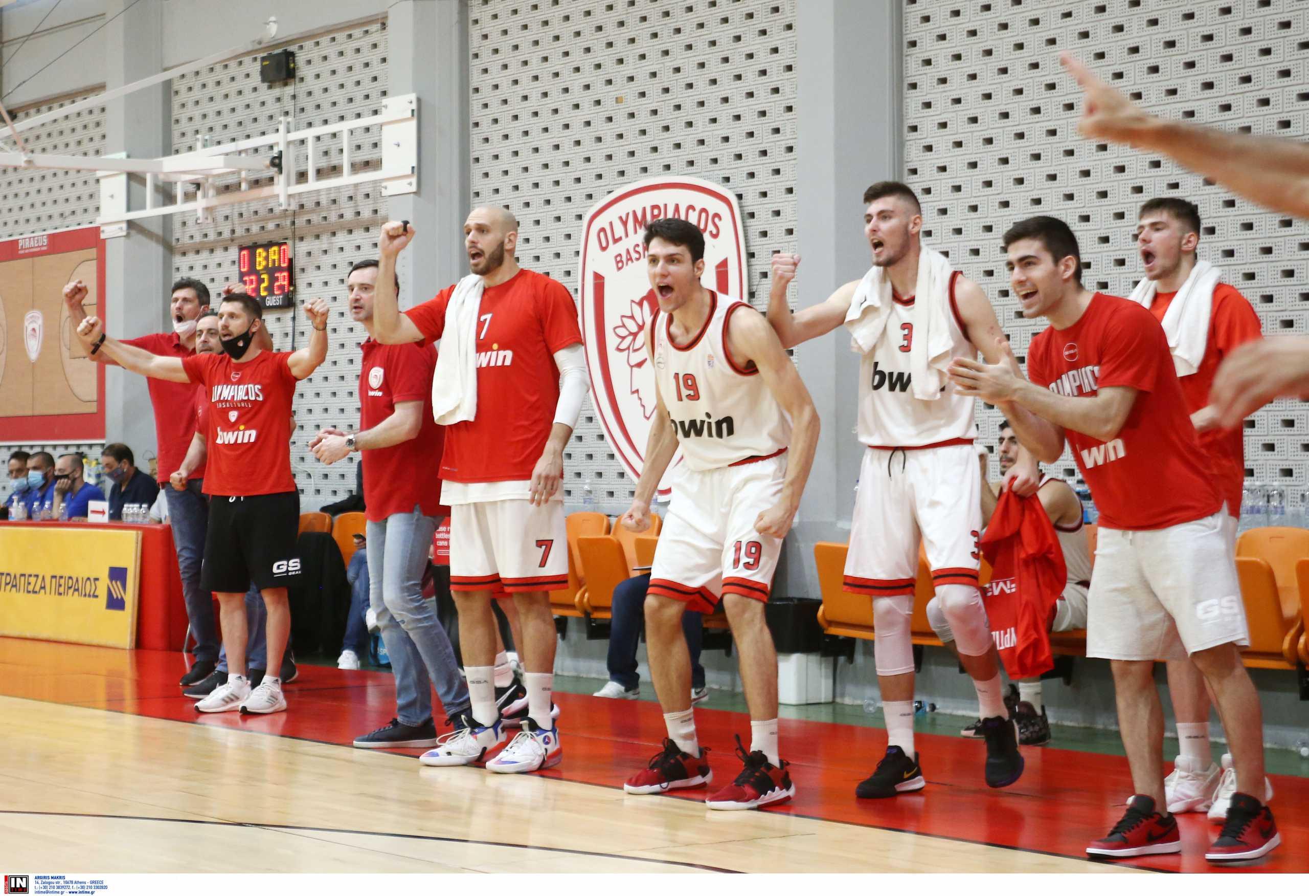 Αγωνιστική επιστροφή του Ολυμπιακού στην Basket League – Πήρε το «θρίλερ» με Μαρούσι