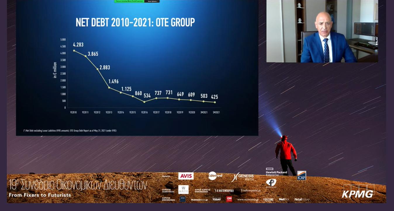 Μπ. Μαζαράκης, ΟΤΕ: «Για τον CFO, αφετηρία και προορισμός είναι το μέλλον»