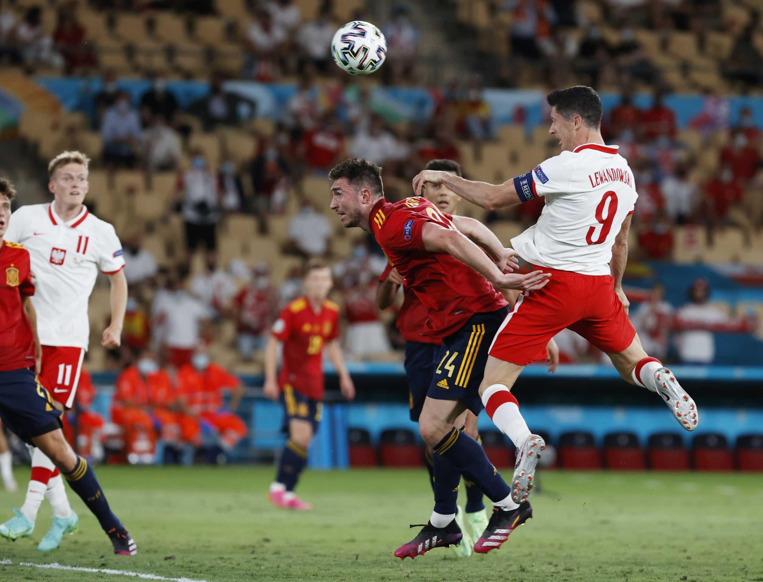Euro 2020, Ισπανία – Πολωνία 1-1: Ζωντανές και οι δύο