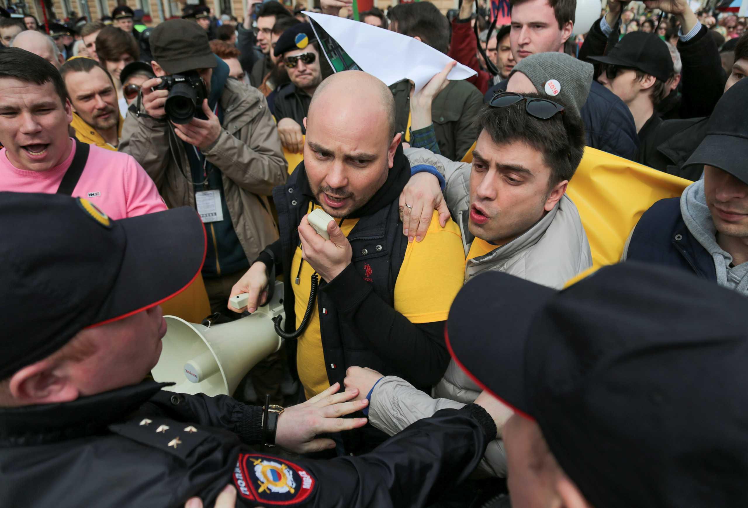 Ρωσία: Σε προσωρινή κράτηση πρώην διευθυντής οργάνωσης της αντιπολίτευσης