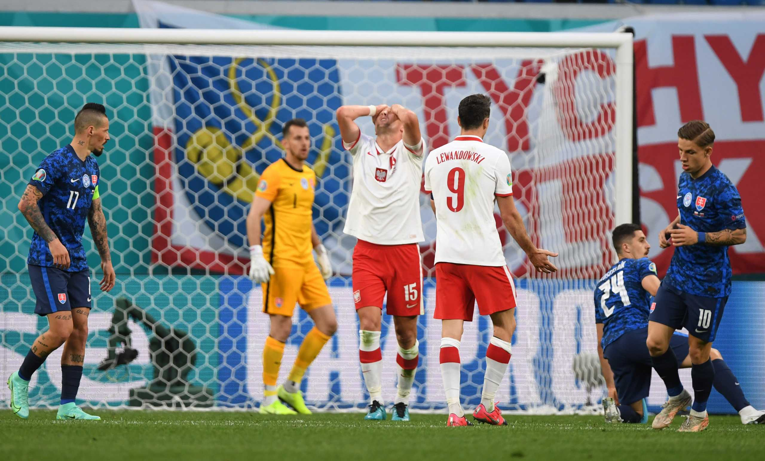 Πολωνία – Σλοβακία 1-2: Η αποβολή βοήθησε το «διπλό»