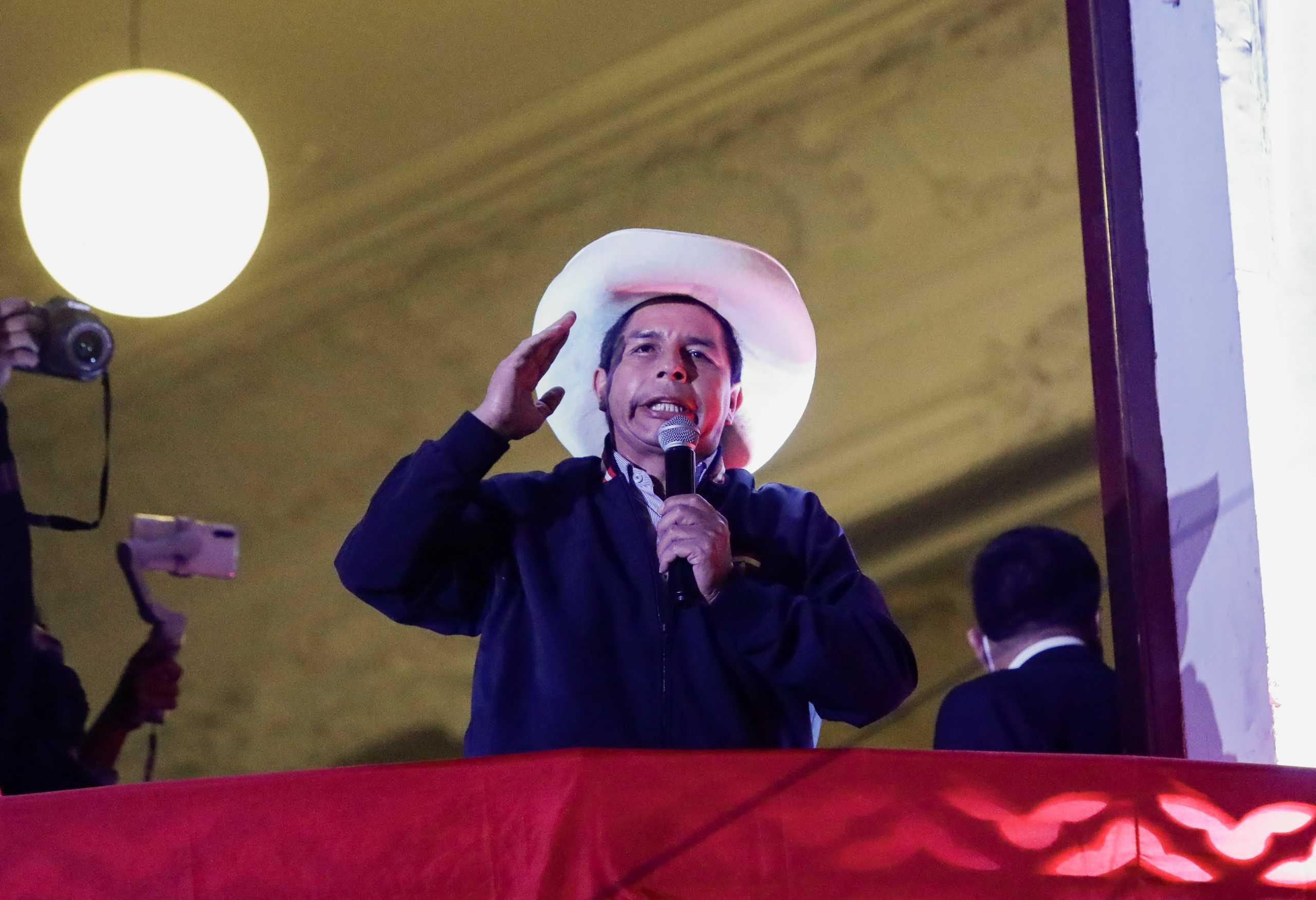 Περού: Παραιτήθηκε ο αρχηγός του Γενικού Επιτελείου Εθνικής Άμυνας μετά τη νίκη του Καστίγιο