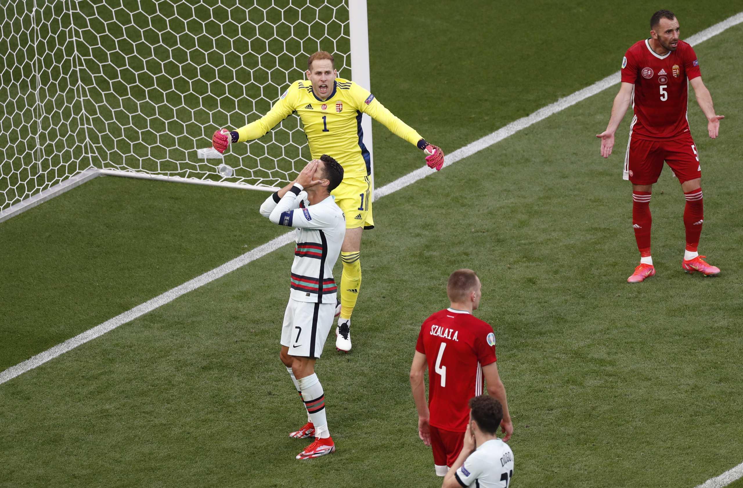 Euro 2020: Αδιανόητη χαμένη ευκαιρία από τον Κριστιάνο Ρονάλντο