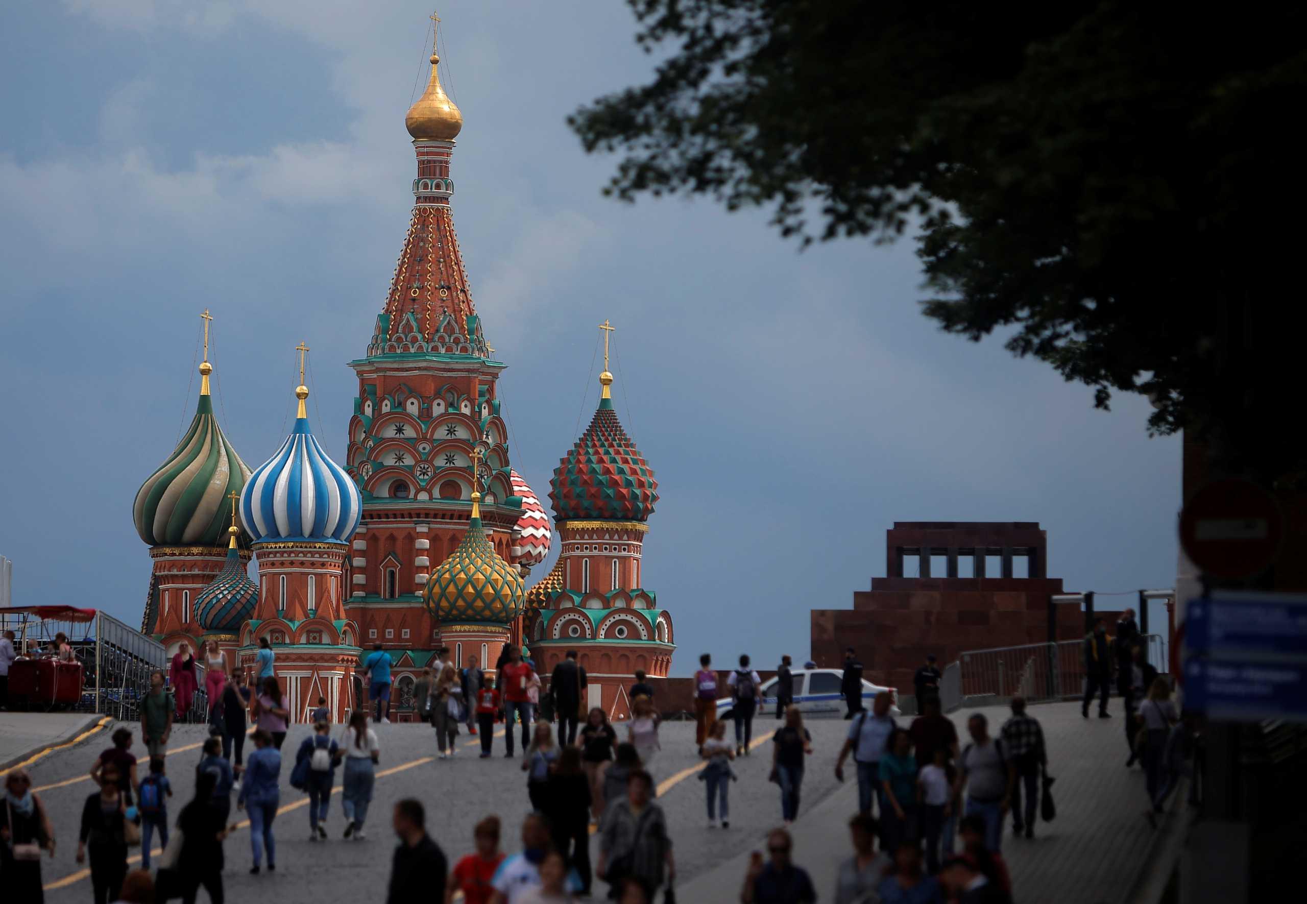 Ρωσία: Εκτόξευση των κρουσμάτων στη Μόσχα