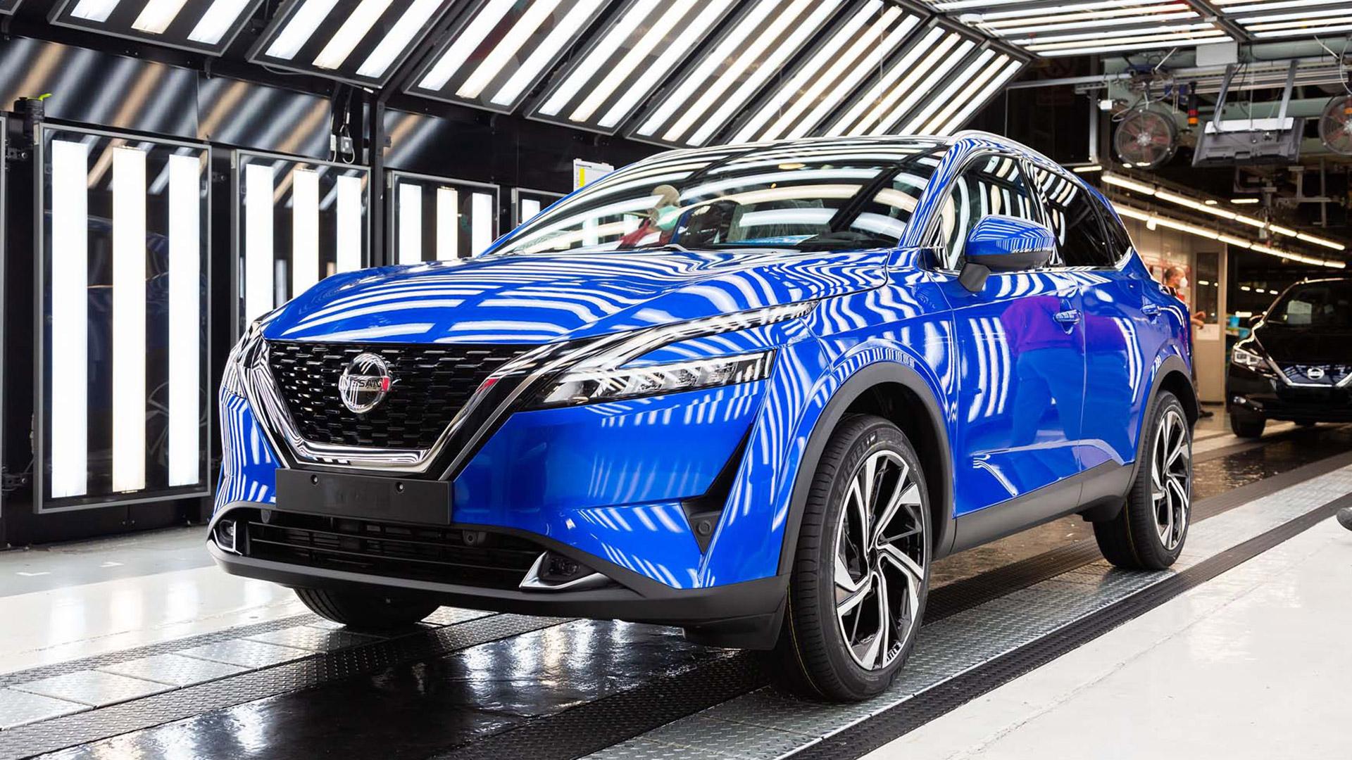 Δείτε πως κατασκευάζεται το νέο Nissan Qashqai (video)
