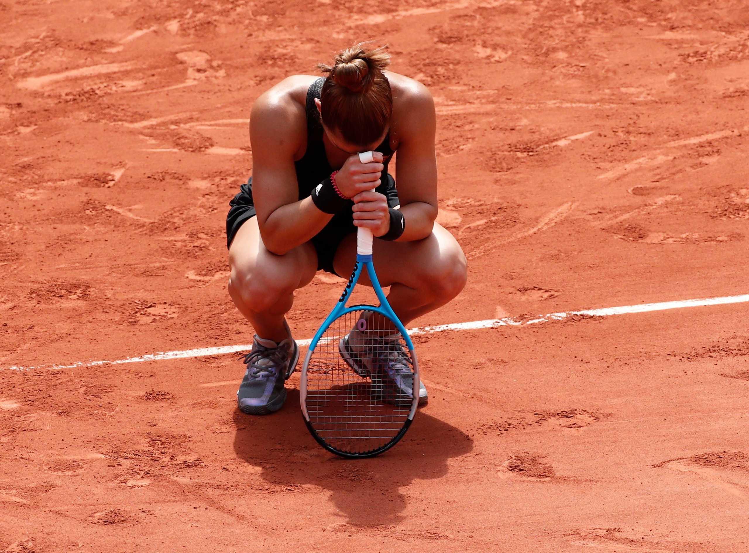 Μαρία Σάκκαρη: Ο τελευταίος πόντος και η συγκίνηση για την πρόκριση στα ημιτελικά του Roland Garros
