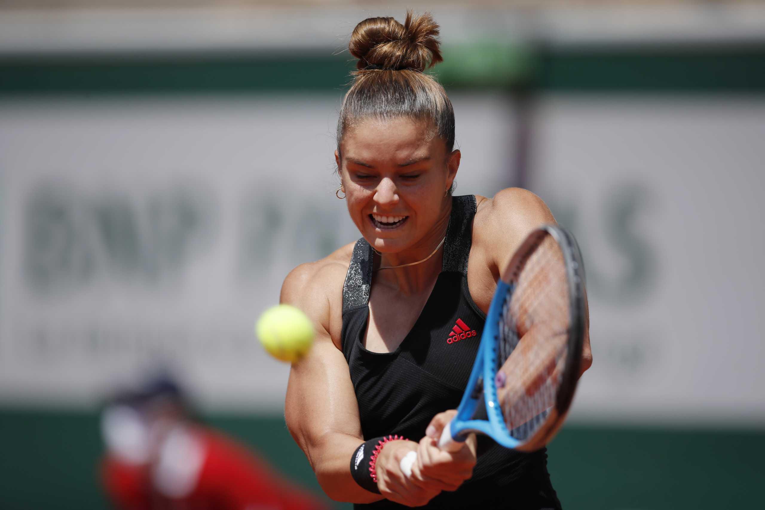 Μαρία Σάκκαρη: Τα highlights της μεγάλης της πρόκρισης στα ημιτελικά του Roland Garros