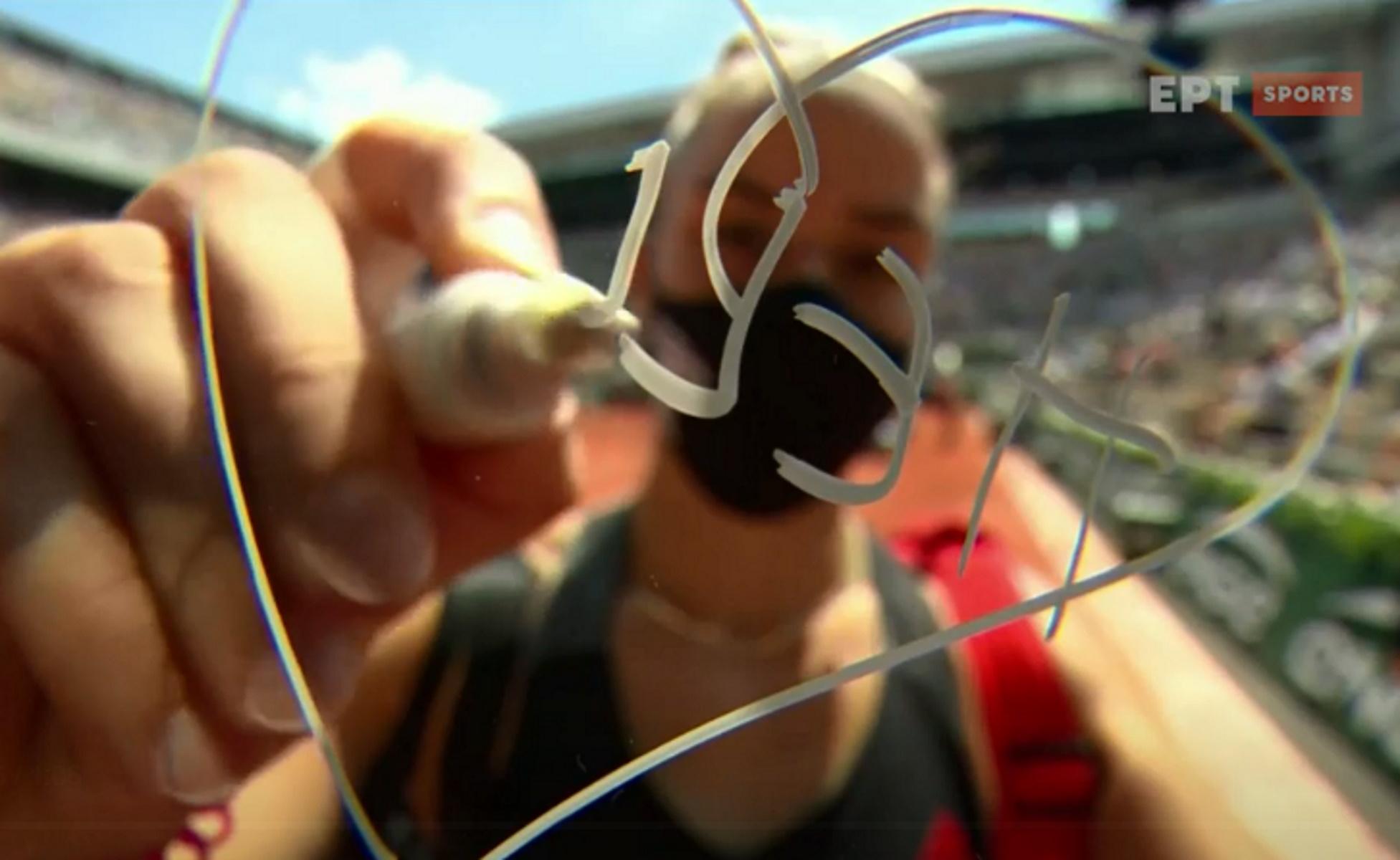 Μαρία Σάκκαρη: Αφιερωμένη στην Ελλάδα η πρόκριση στην 4άδα του Roland Garros