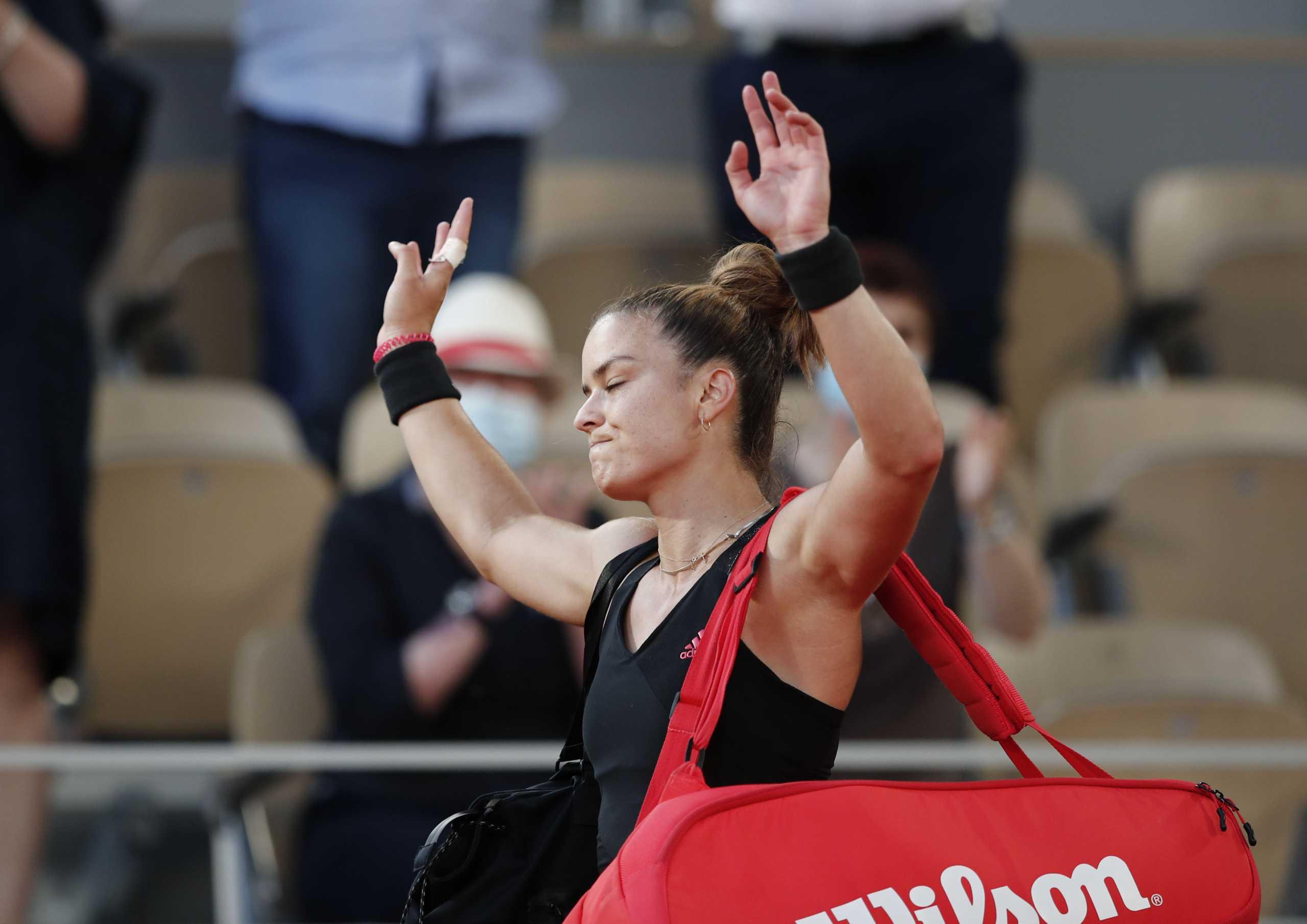 Μαρία Σάκκαρη: Δεν αλλάζει θέση στην παγκόσμια κατάταξη παρά την πορεία στο Roland Garros