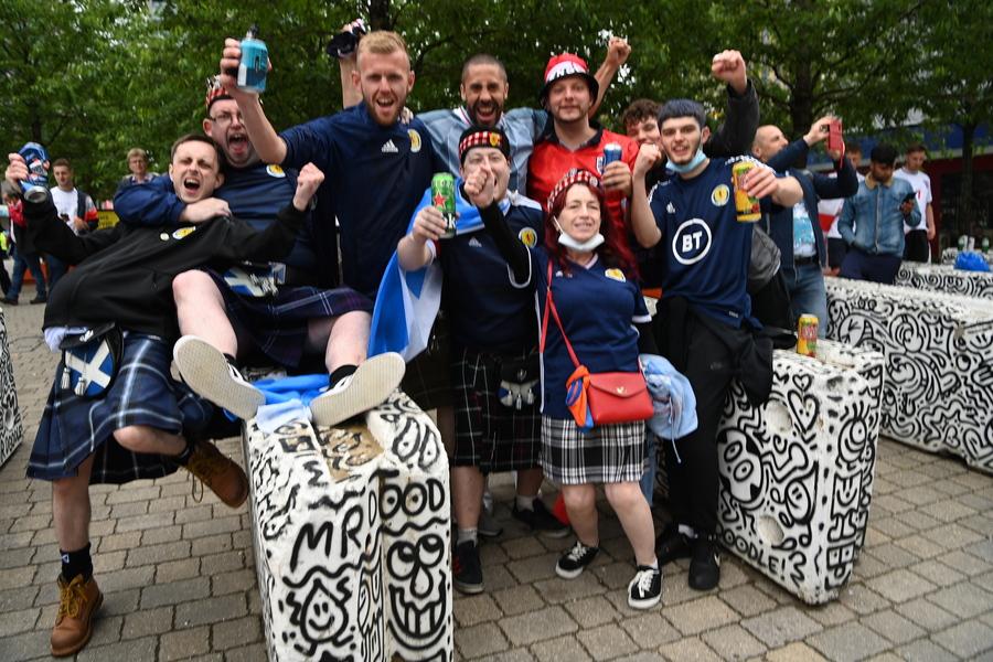 Έξαρση κρουσμάτων κορονοϊού στην Σκωτία λόγω Euro 2020