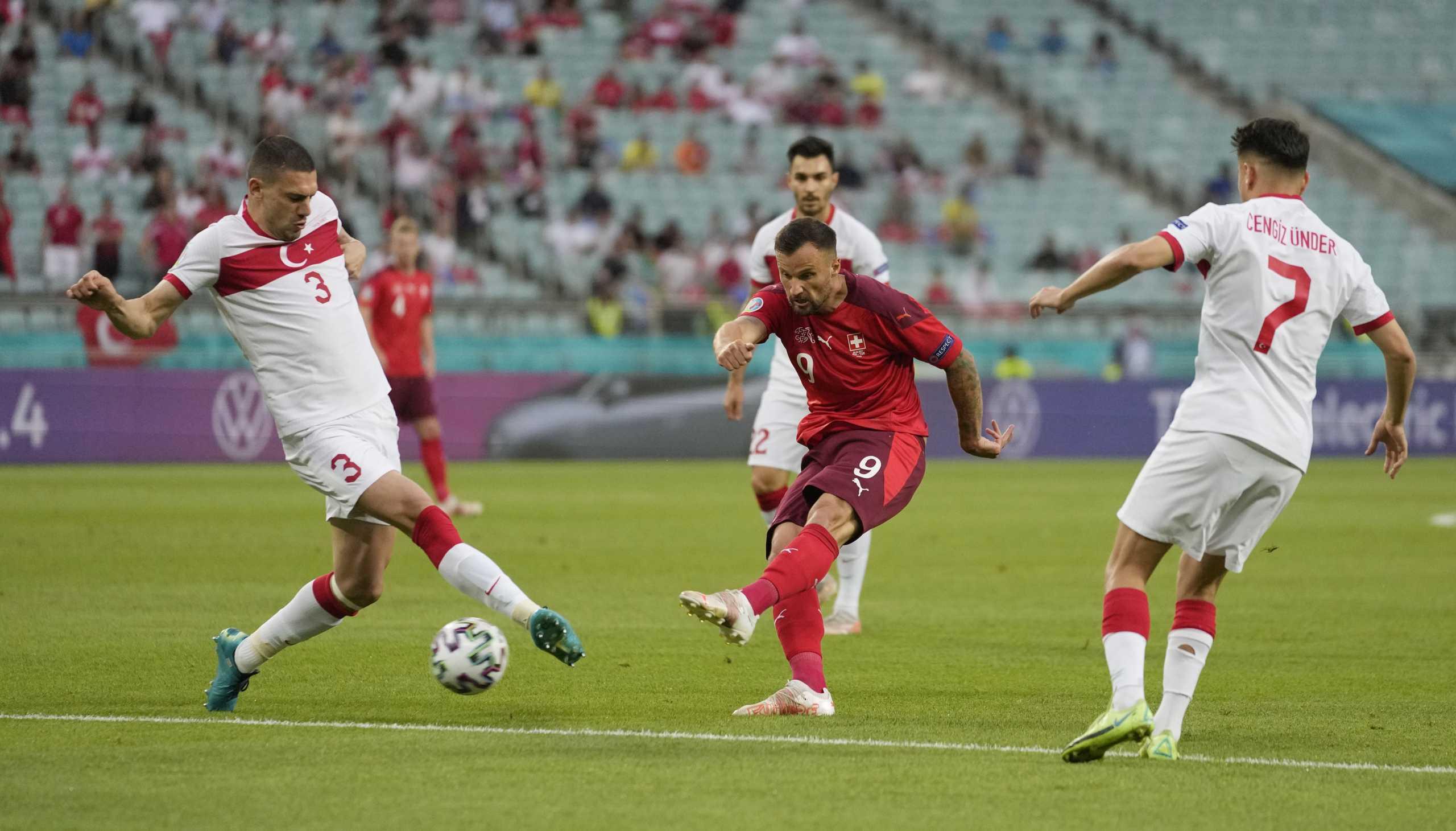 Euro 2020: Ιταλία – Ουαλία 1-0 και Ελβετία – Τουρκία 3-1 ΤΕΛΙΚΑ!