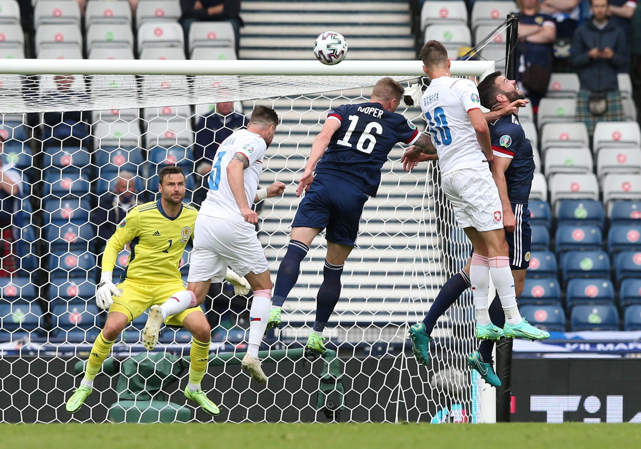 Σκωτία – Τσεχία: Οι χαμένες ευκαιρίες και το γκολ των φιλοξενούμενων