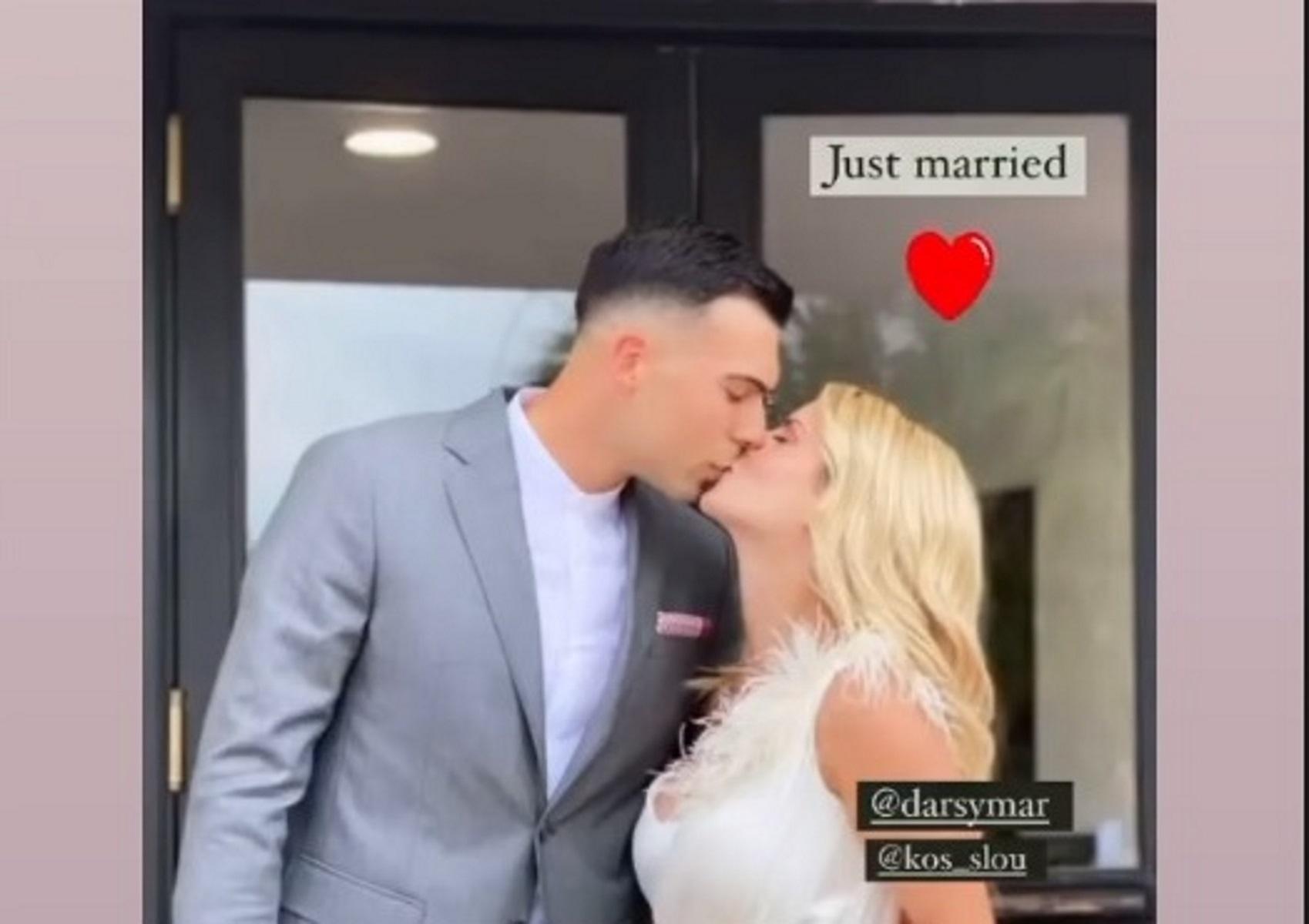 Παντρεύτηκε ο Κώστας Σλούκας