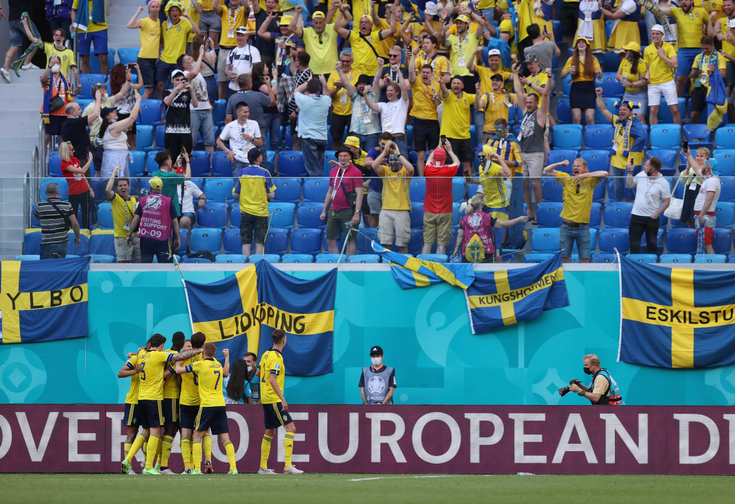 Euro 2020, Σουηδία – Σλοβακία 1-0: Από την βούλα στην κορυφή του 5ου ομίλου οι Σκανδιναβοί