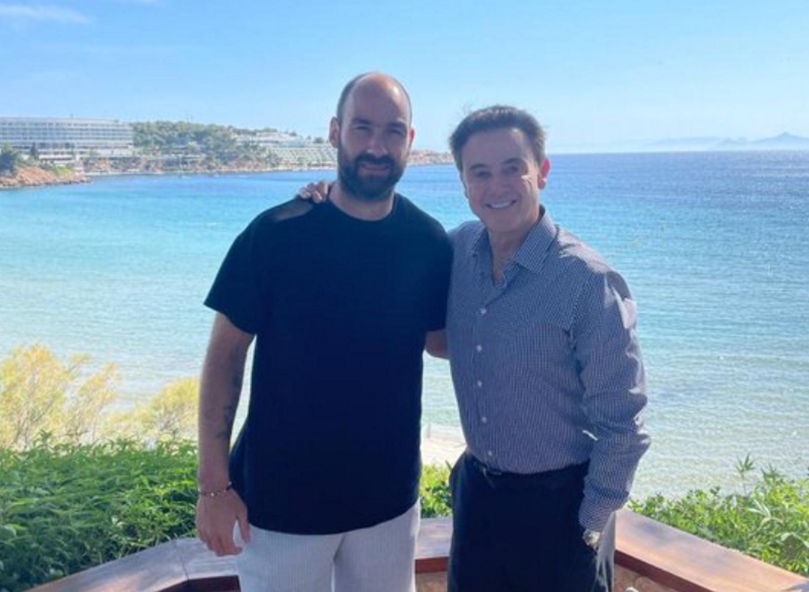 """Εθνική Ελλάδας: Ενθουσιασμένος ο Πιτίνο με τον """"θρυλικό"""" Σπανούλη – """"Μία εξαιρετική κινητήριος δύναμη"""""""