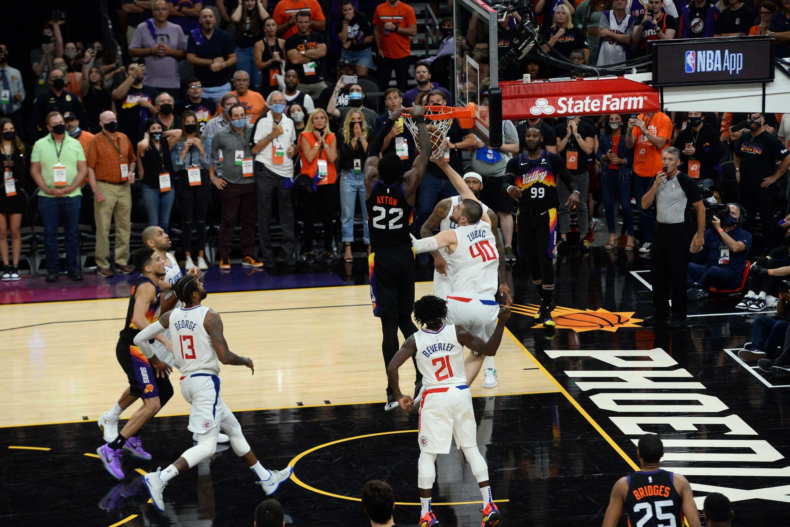 NBA: Το τρομερό buzzer beater των Σανς που έριξε στο «καναβάτσο» τους Κλίπερς