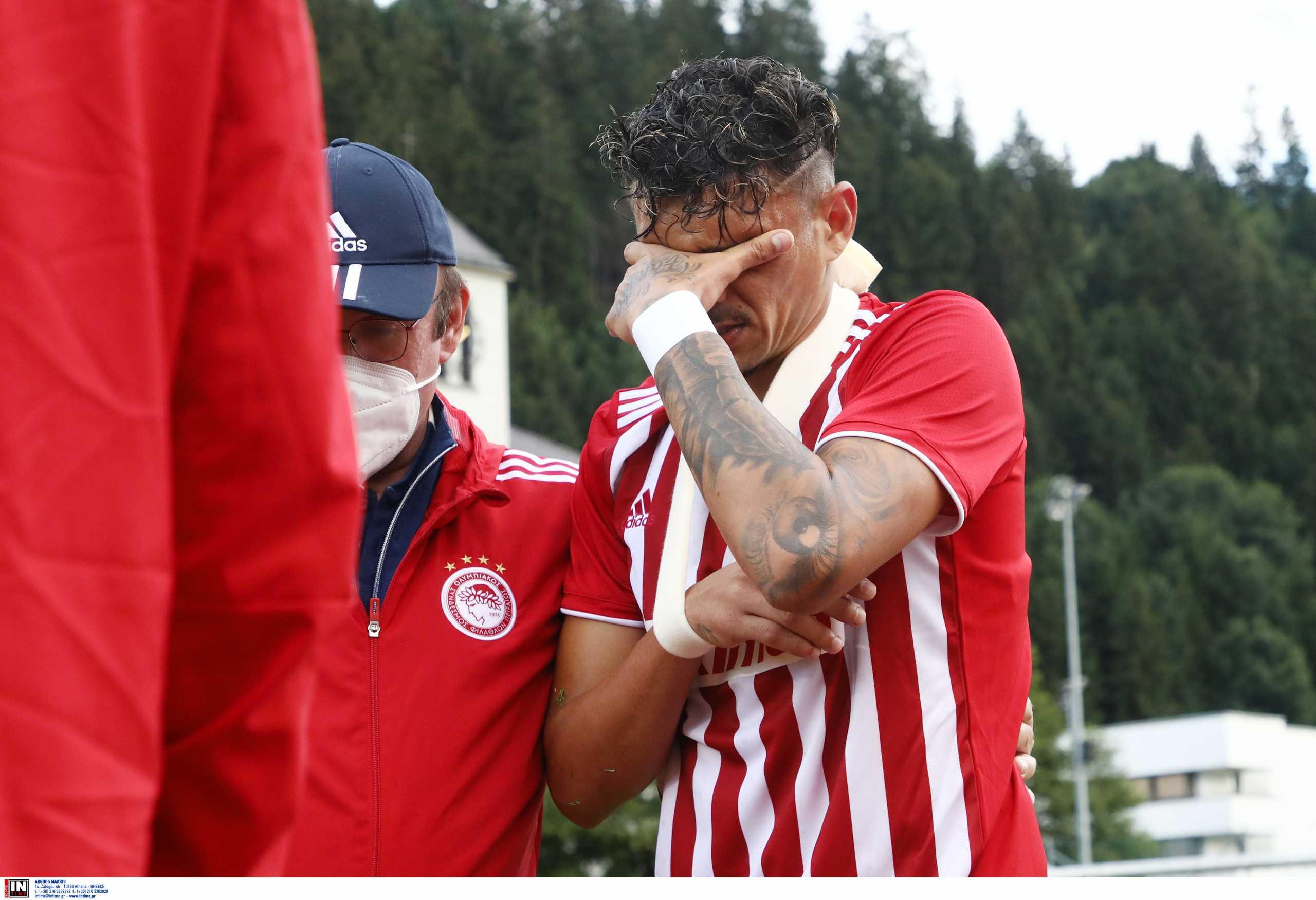 Ολυμπιακός: Αποχώρησε τραυματίας ο Τικίνιο από το φιλικό με ΤΣΣΚΑ Σόφιας