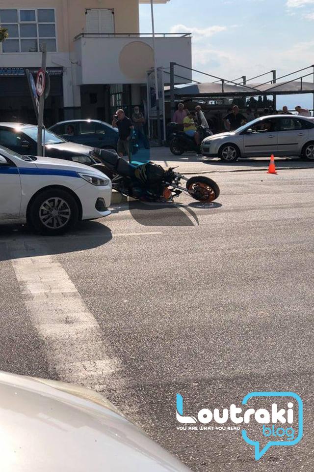 Τραγωδία στο Λουτράκι – Νεκρός 19χρονος οδηγός μηχανής