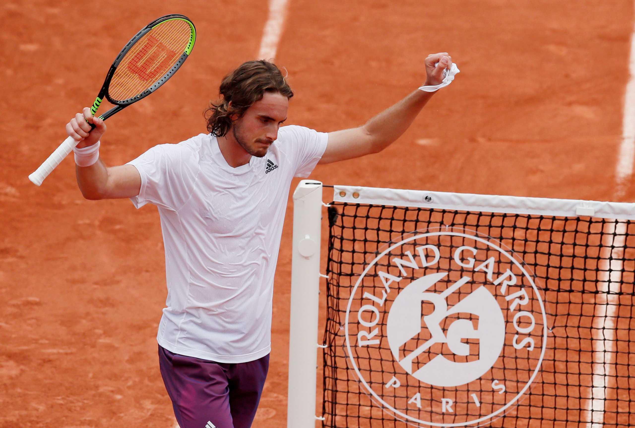 Τσιτσιπάς: «Nα πάρω Grand Slam, πριν πάρει ο Αντετοκούνμπο πρωτάθλημα»