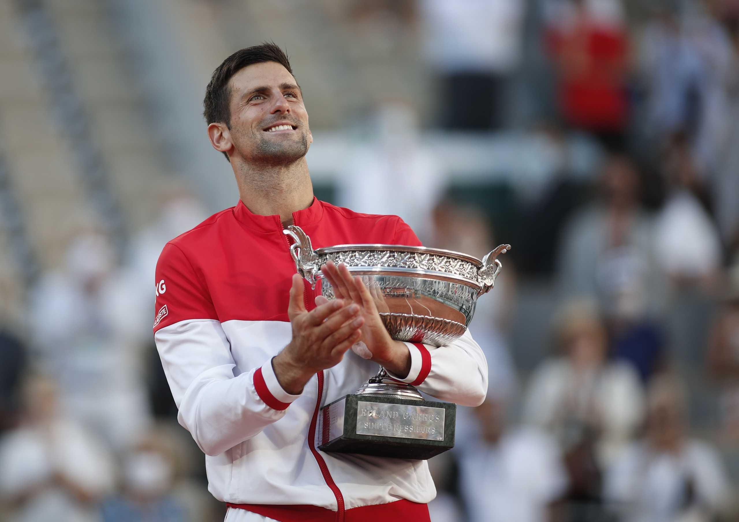 Νόβακ Τζόκοβιτς: Έγραψε ιστορία ο Σέρβος με τον τίτλο στο Roland Garros