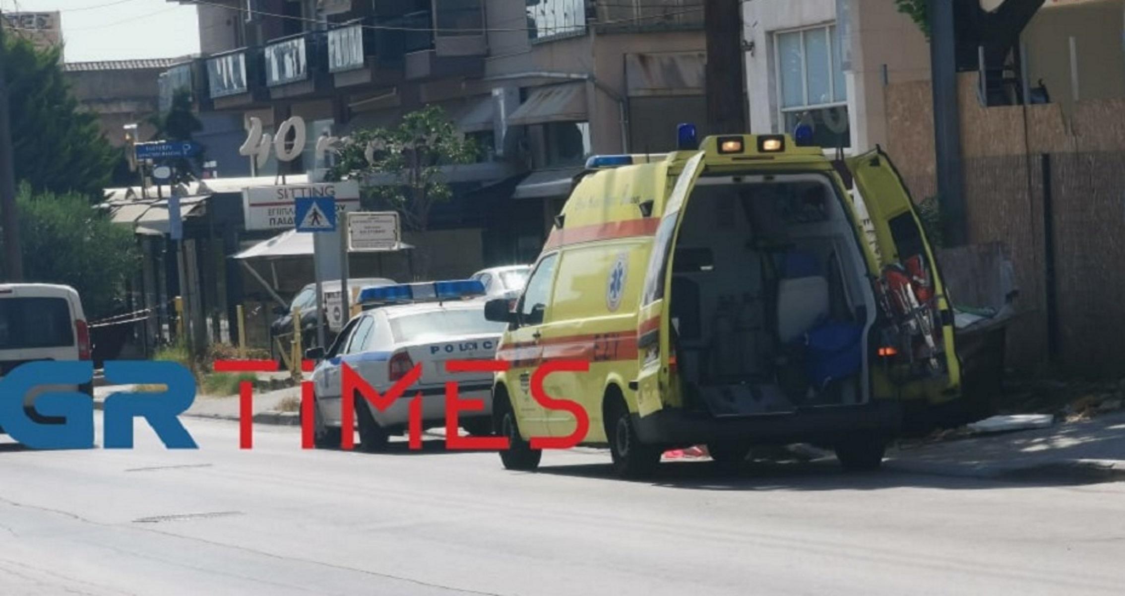 Θεσσαλονίκη: Έπεσε από σκαλωσιά και χτύπησε σοβαρά στο κεφάλι